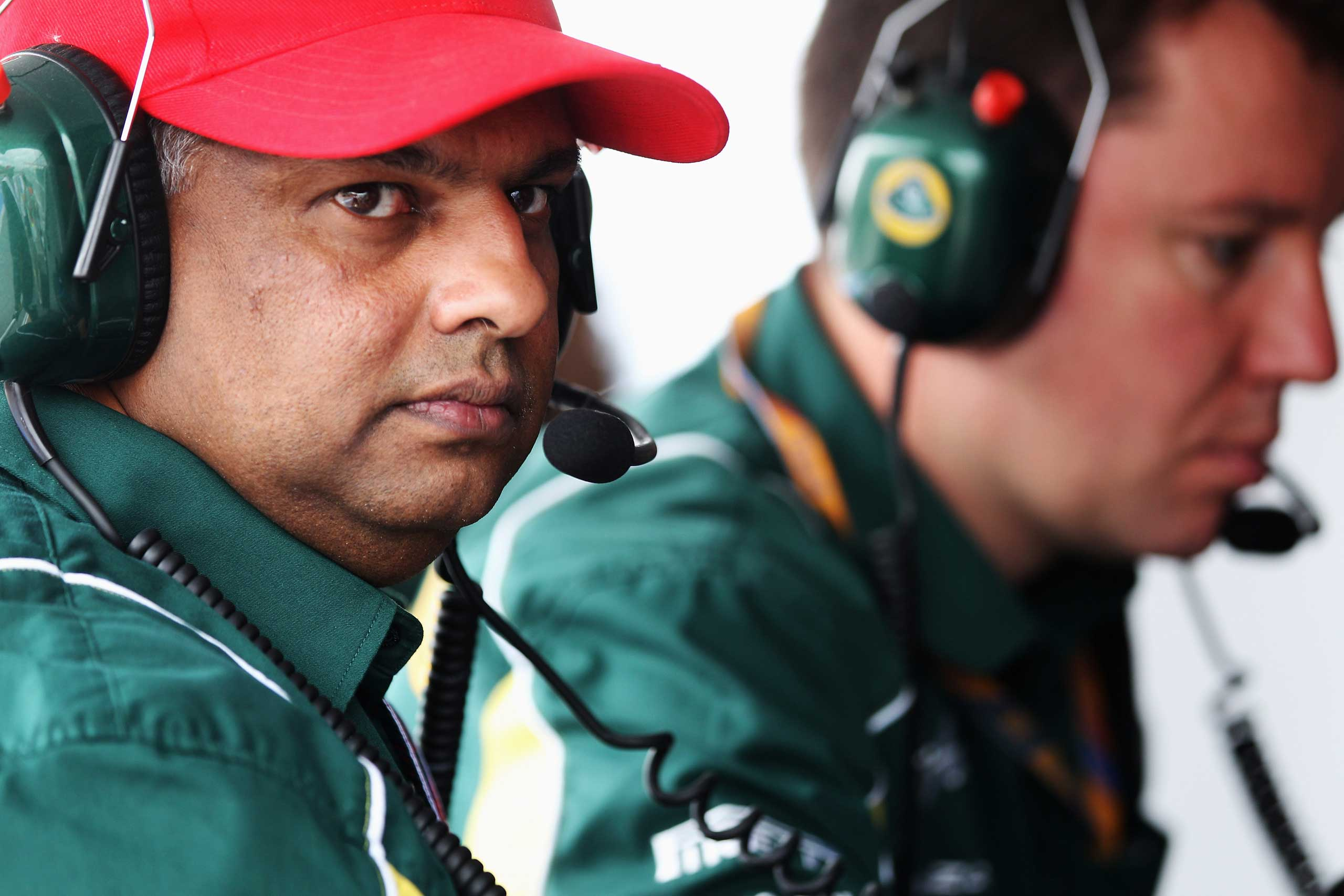 In addition to AirAsia, Fernandes' other ventures include a budget hotel chain, auto racing, and soccer. Here, Fernandes, then Team Lotus Principal, is seen during qualifying for the Canadian Formula One Grand Prix at the Circuit Gilles Villeneuve on June 11, 2011 in Montreal.