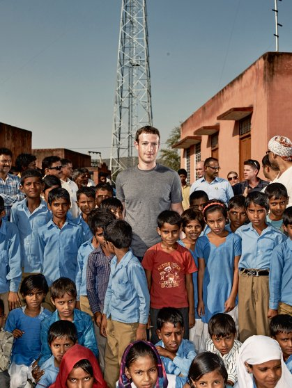 Mark Zuckerberg in Chandauli