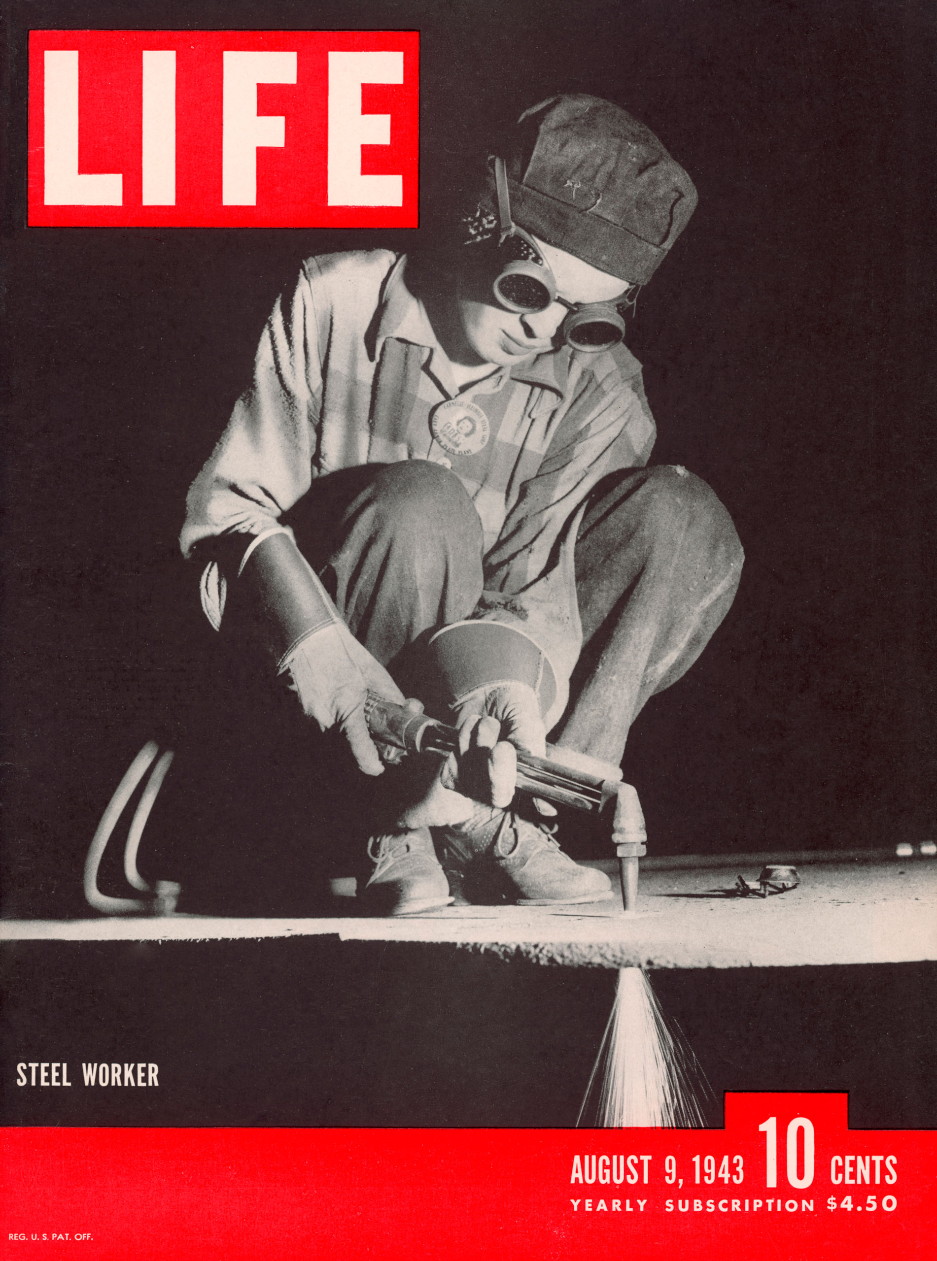 LIFE magazine cover, August 9, 1943.