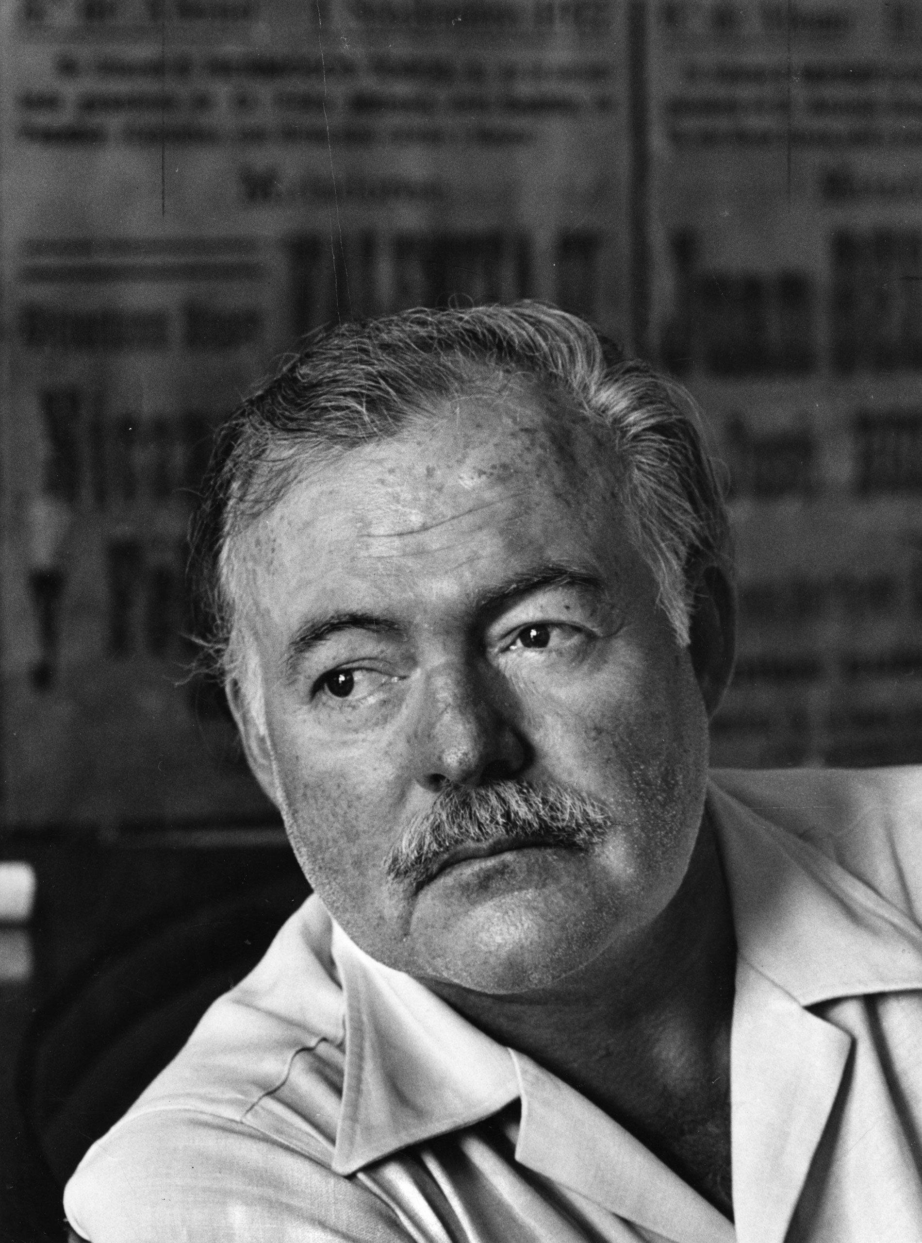 Ernest Hemingway in Cuba August 1952