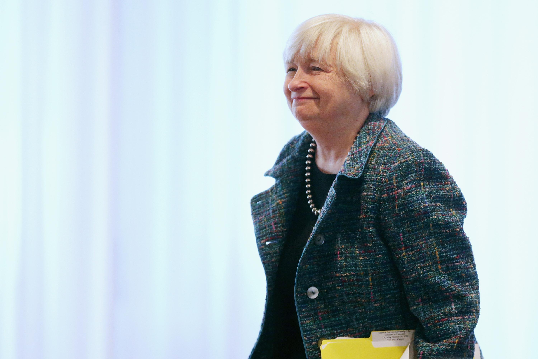 Federal Reserve Bank Board Chairman Janet Yellen
