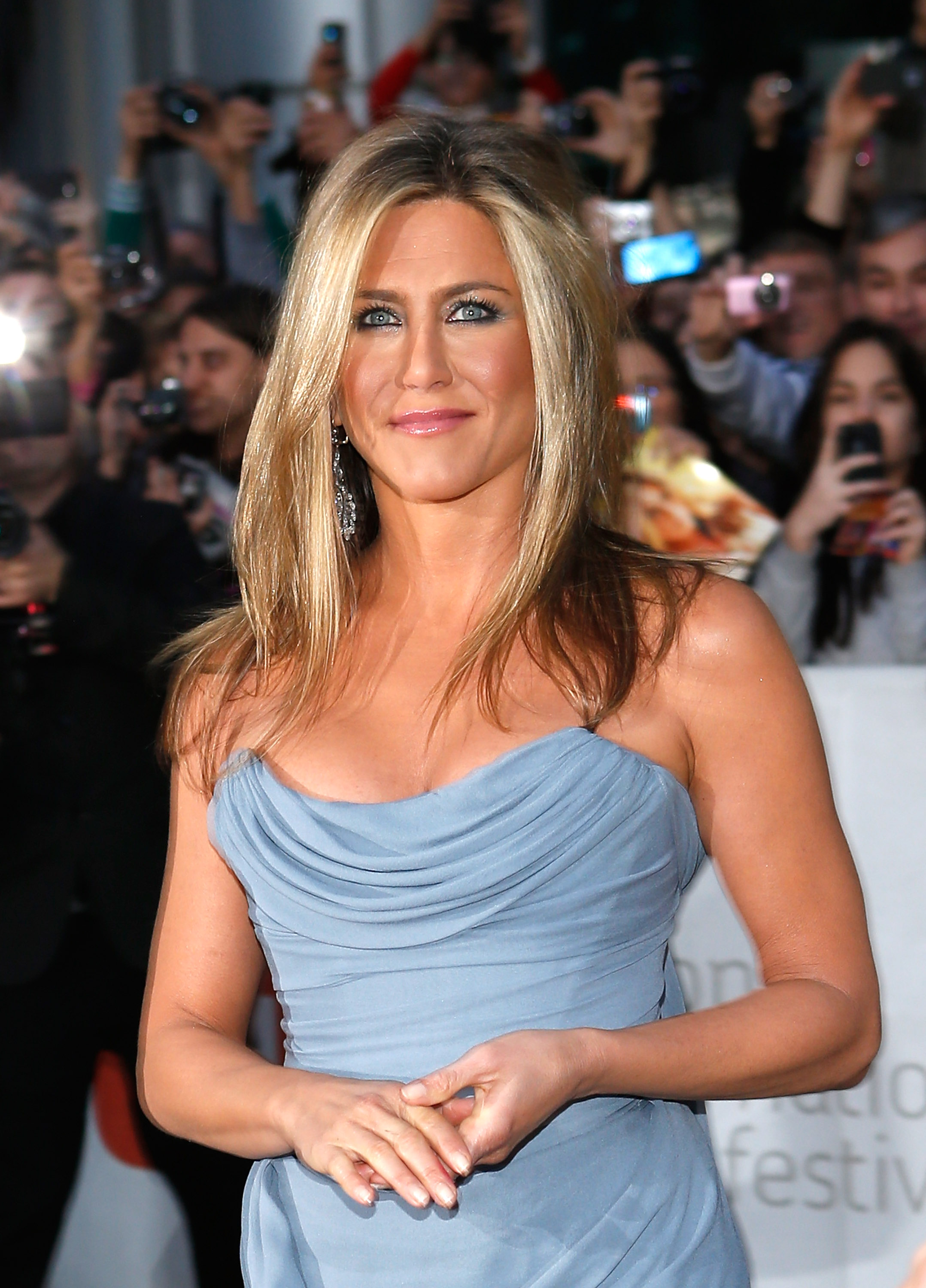 Actress Jennifer Aniston attends the premiere for  Life Of Crime  at Roy Thomson Hall on September 14, 2013 in Toronto, Canada.  ( J. Countess--WireImage)