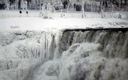 2014 Natural Disaster Niagara Falls Polar Vortex