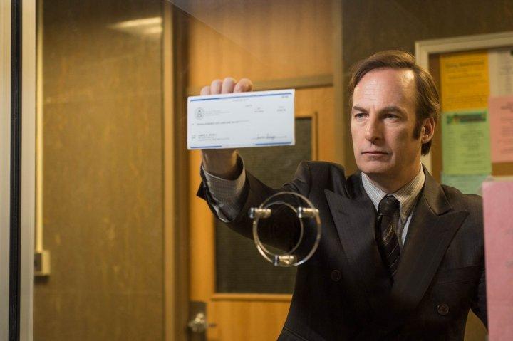 Bob Odenkirk as Saul Goodman - Better Call Saul _ Season 1, Episode 1 - Photo Credit: Ursula Coyote/AMC