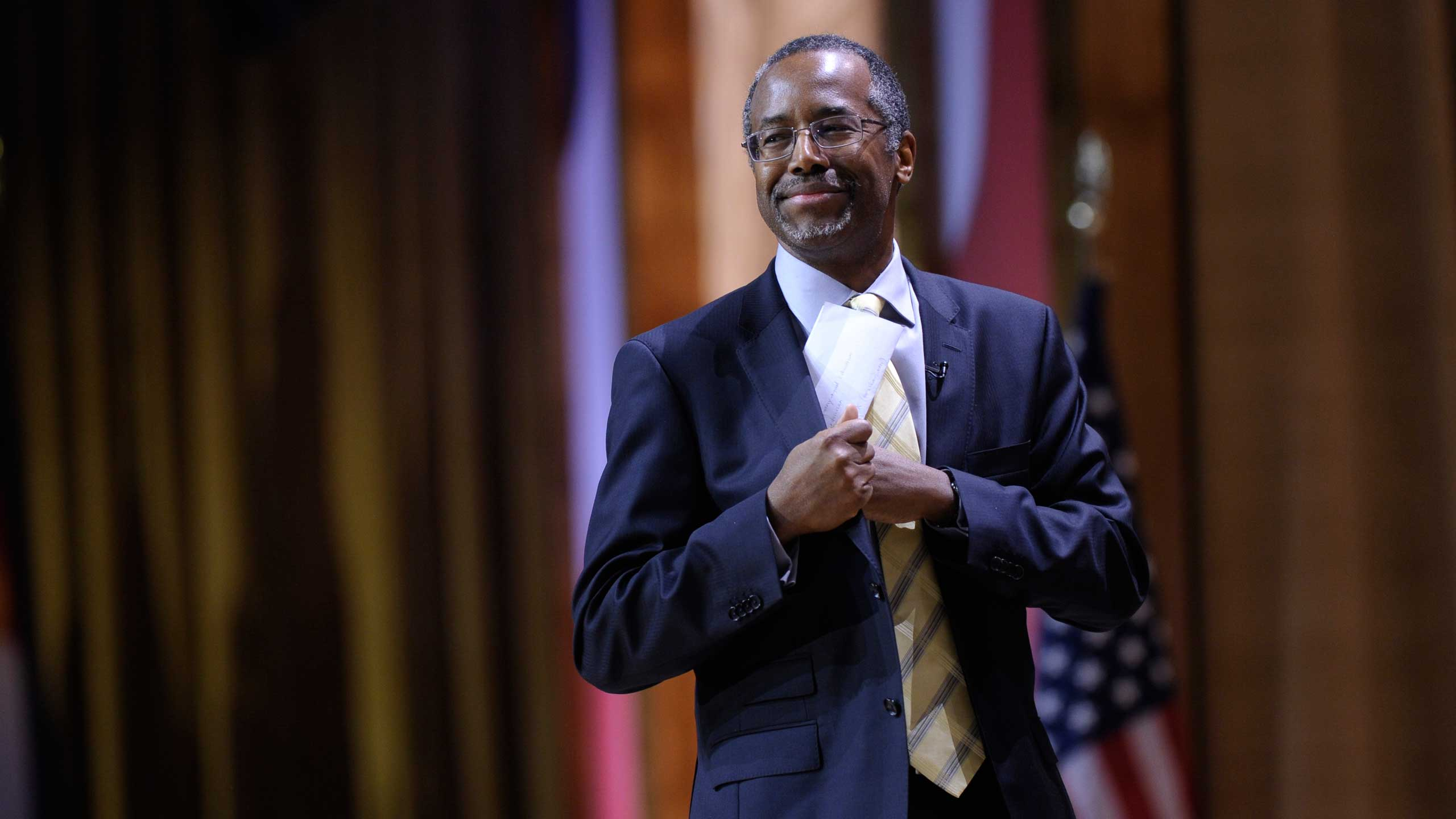 <b>Ben Carson</b>Ben Carson at the Conservative Political Action Committee annual conference on March 8, 2014.