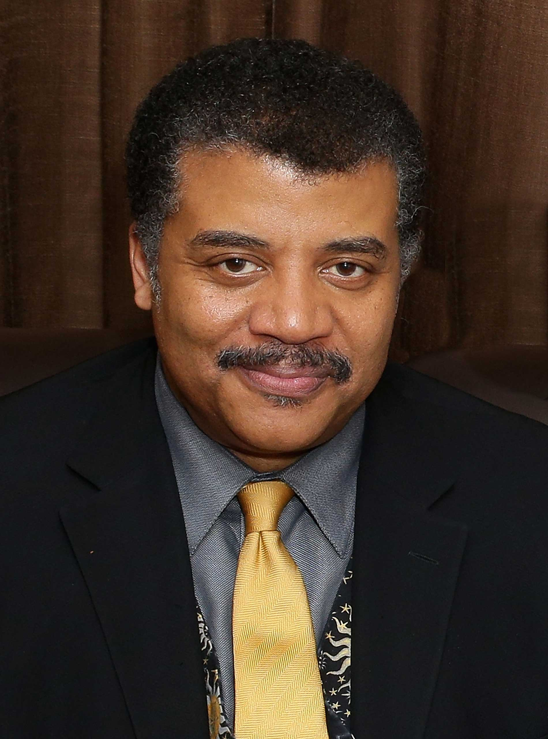 Physicist/TV host Dr. Neil deGrasse Tyson in New York City, June 5, 2014.