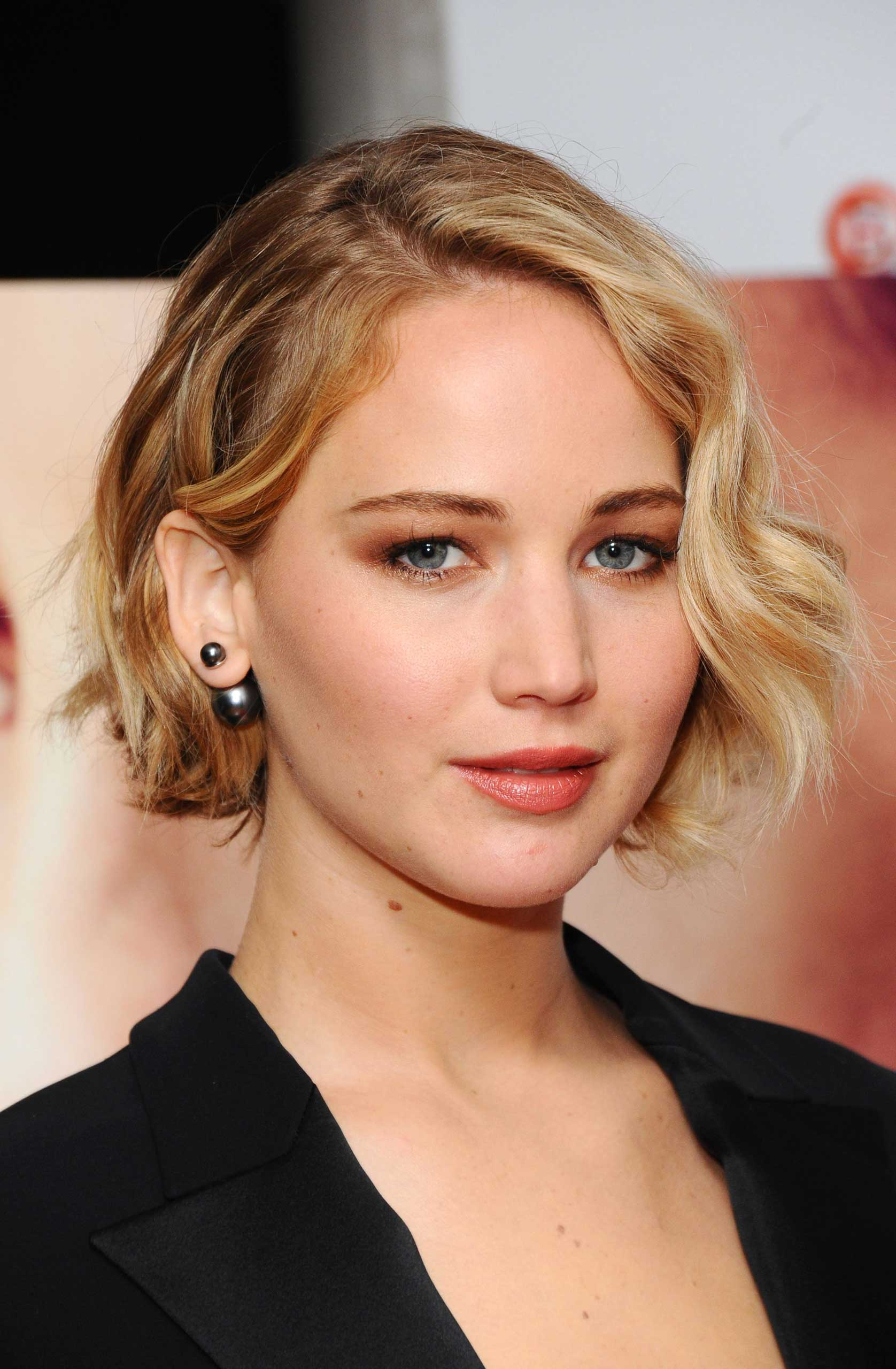 Jennifer Lawrence attends the premiere for  Serena  during the 58th BFI London Film Festival at Vue West End on Oct. 13, 2014 in London.
