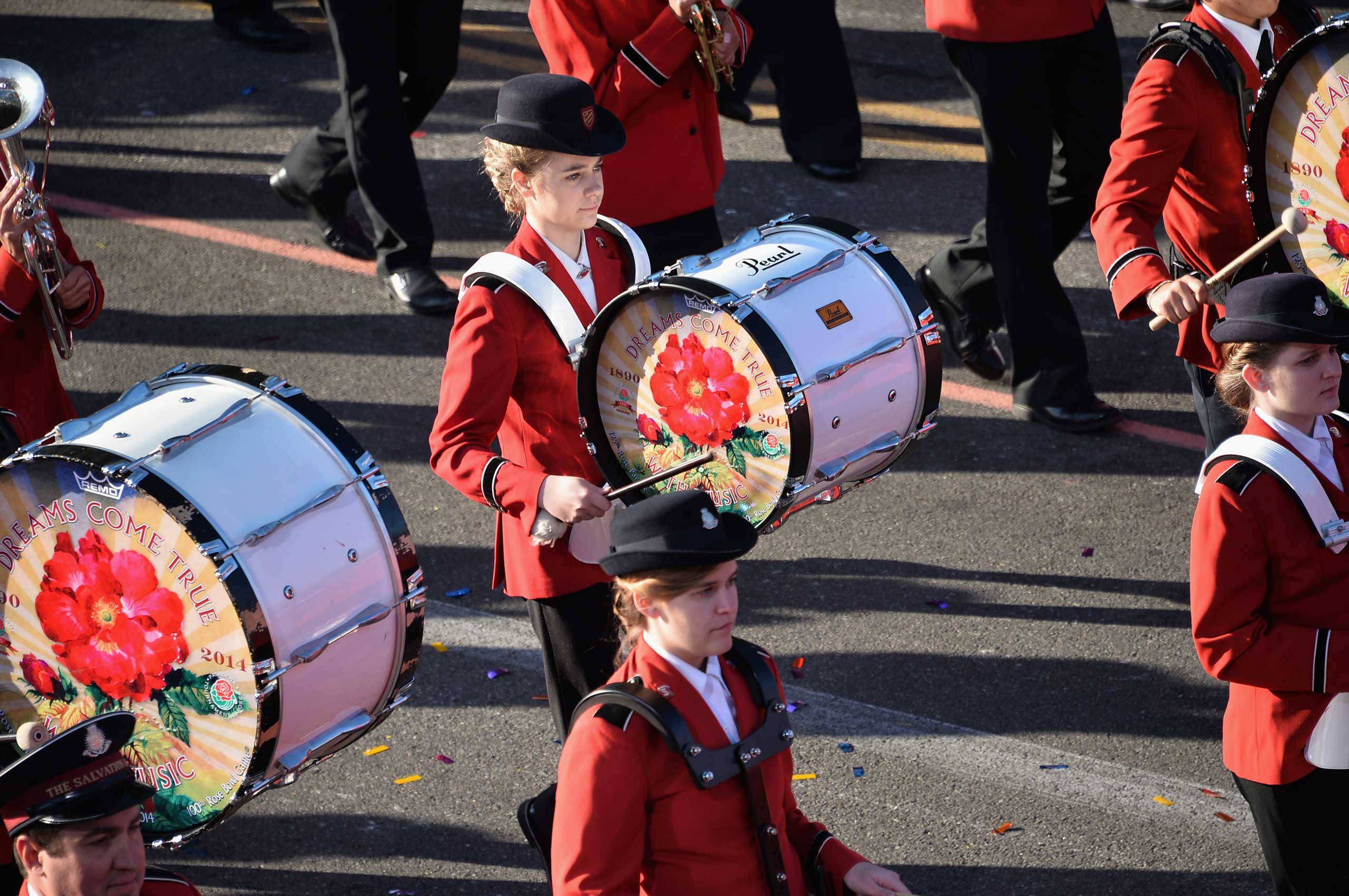 The 125th Rose Bowl Parade, Jan. 1, 2014 in Pasadena, Calif.
