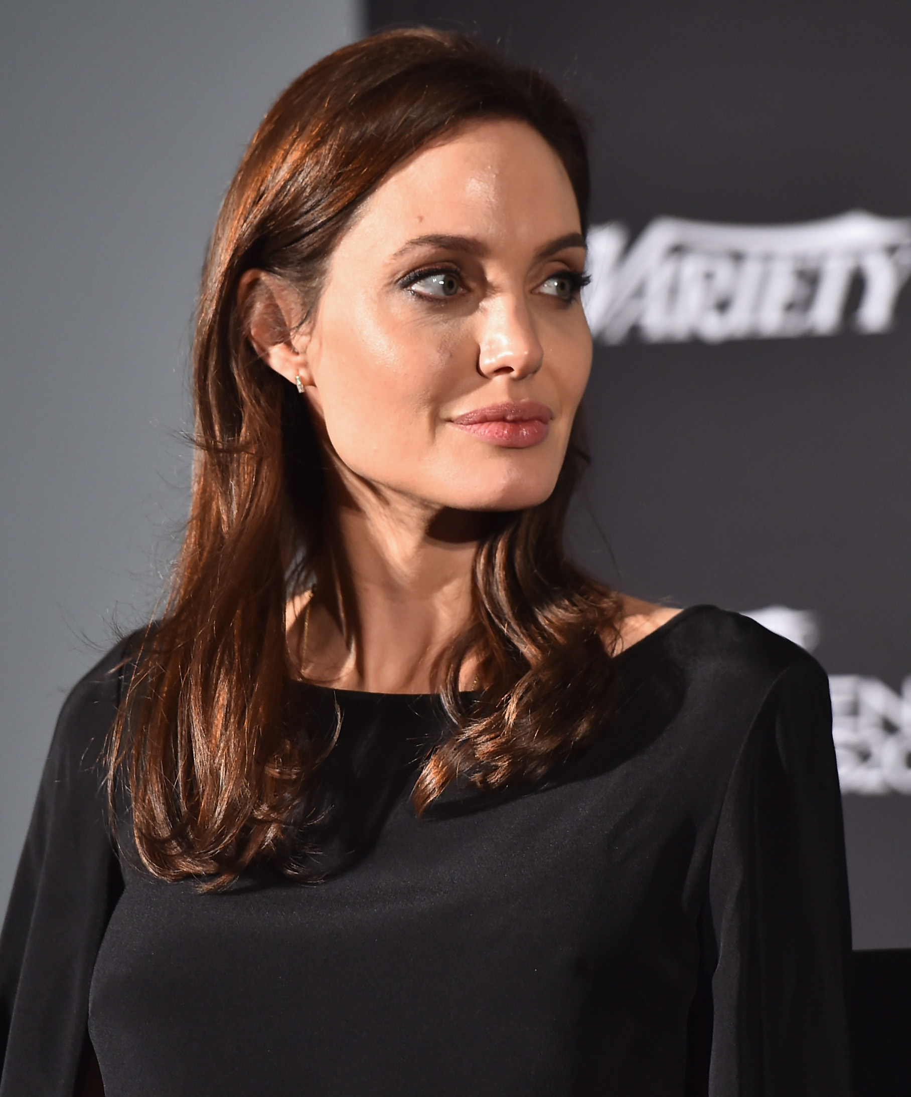Executive producer Angelina Jolie attends the 2014 Variety Screening Series of  Difret   at ArcLight Hollywood on December 9, 2014 in Hollywood, California.
