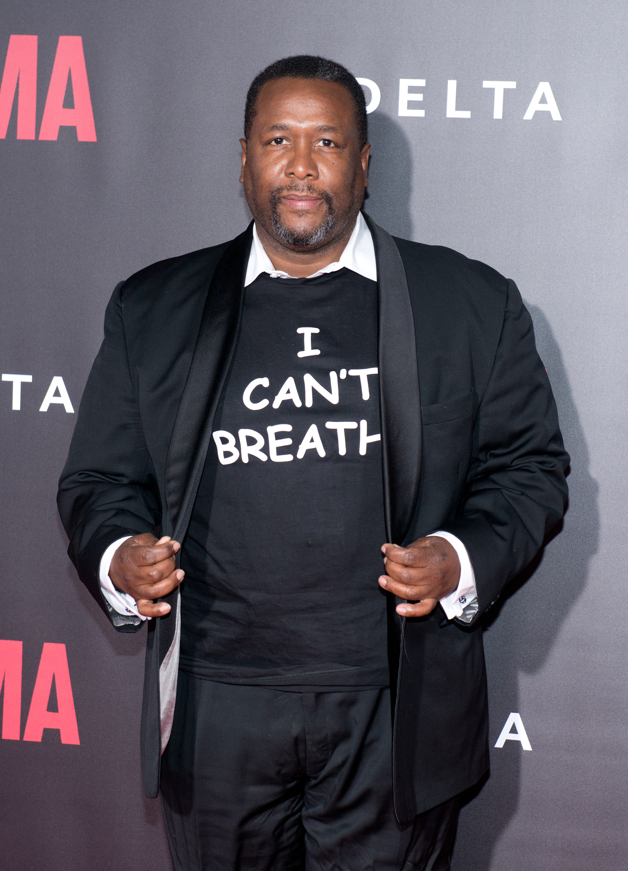 Actor Wendell Pierce attends the 'Selma' New York Premiere at Ziegfeld Theater on December 14, 2014 in New York City