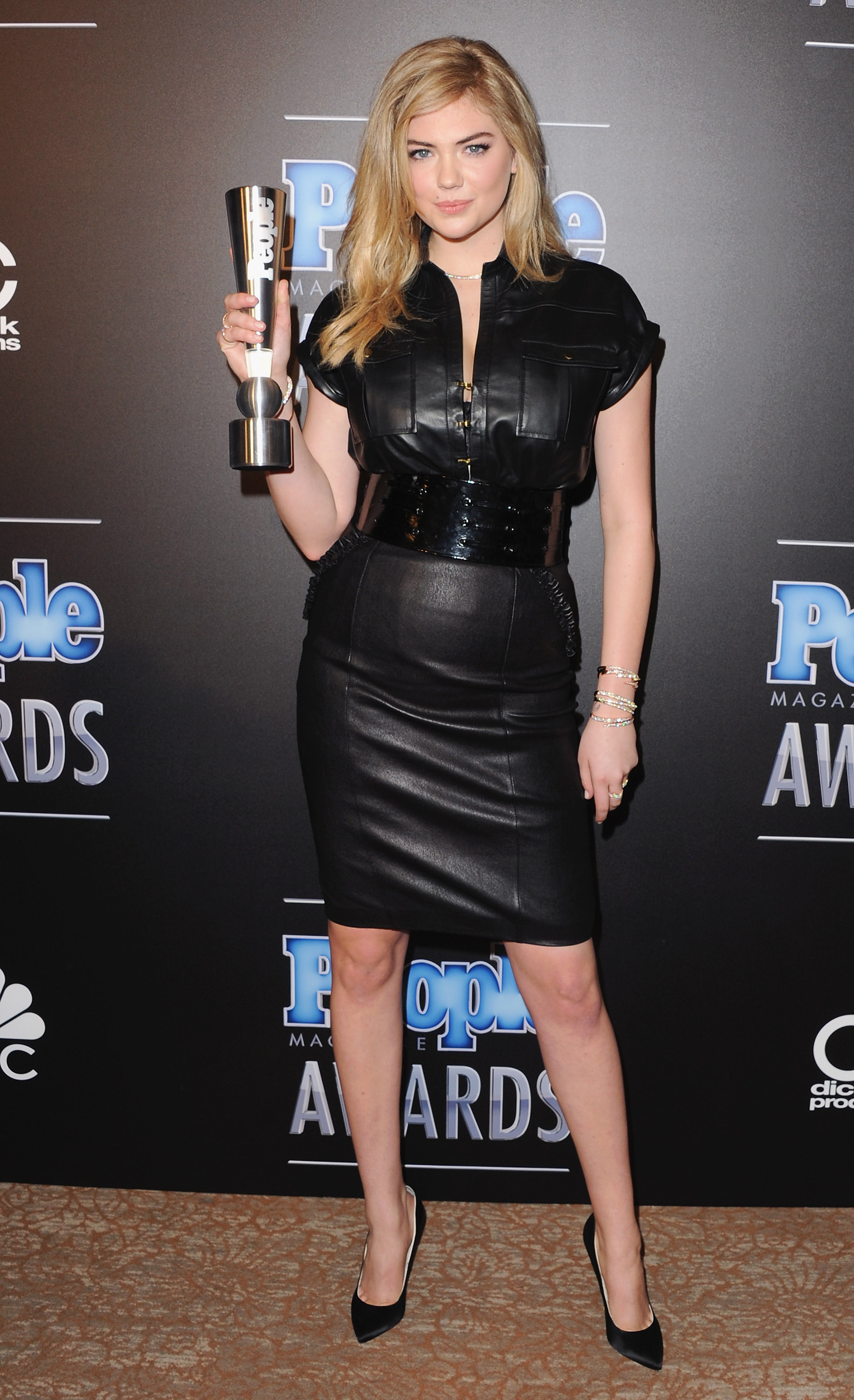 Kate Upton at The PEOPLE Magazine Awards on December 18, 2014.