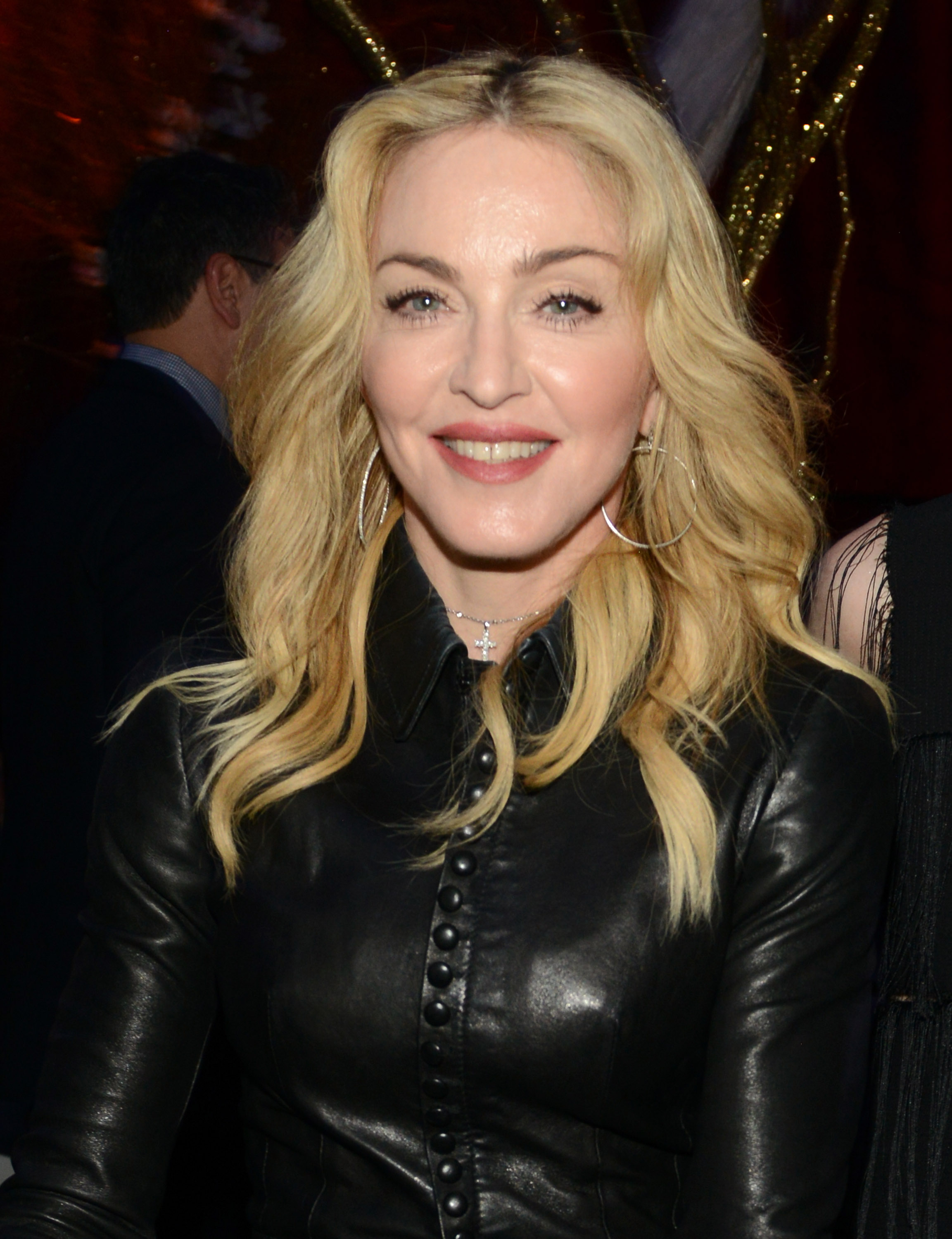 Madonna attends The Great American Songbook event honoring Bryan Lourd at Alice Tully Hall on Feb. 10, 2014 in New York.