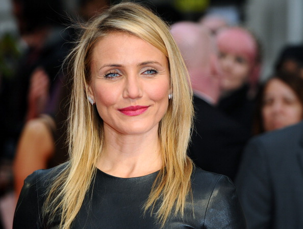 Cameron Diaz attends the U.K. premiere of The Other Woman at the Curzon Mayfair in London on April 2, 2014