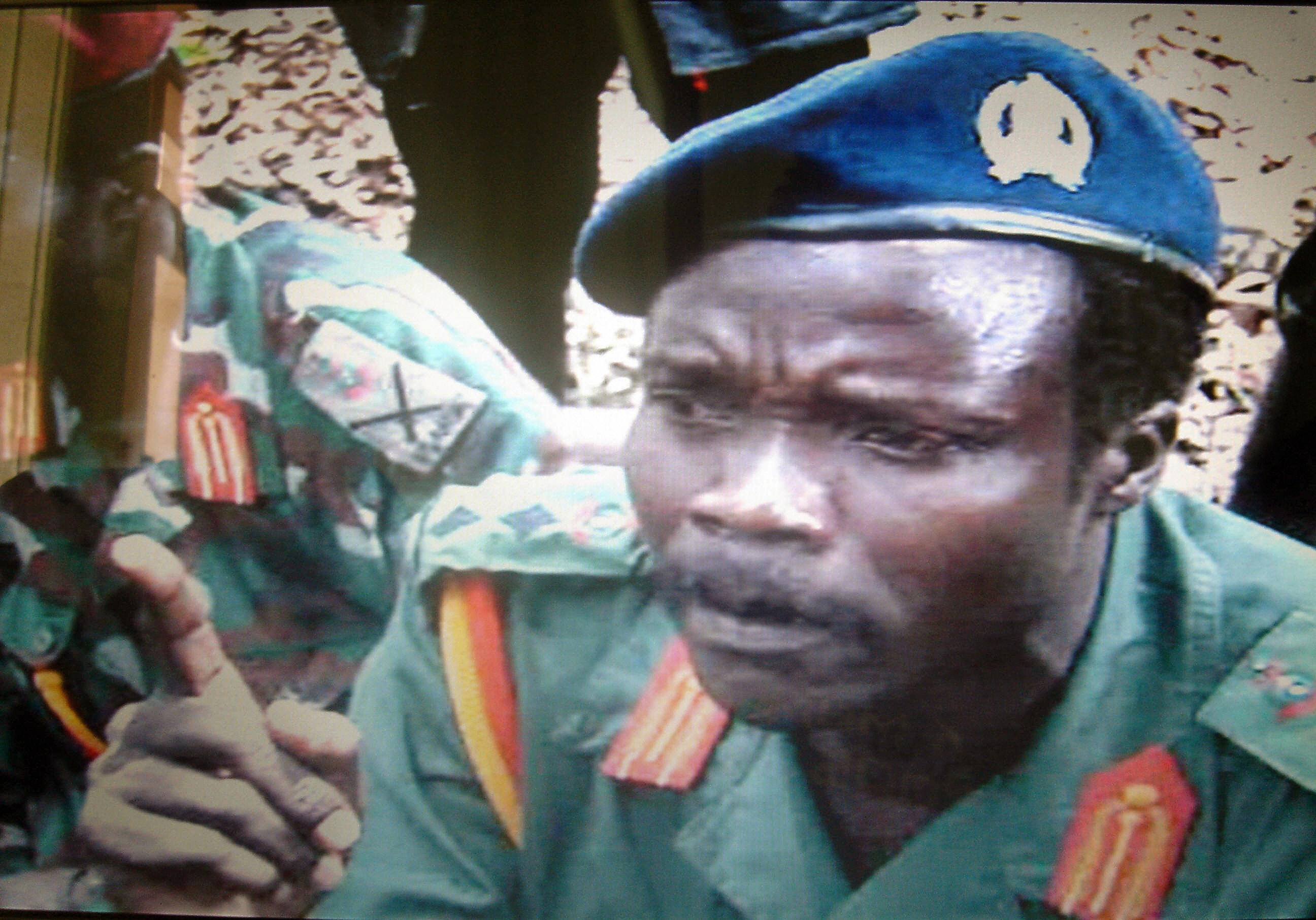 This picture, made available 24 May 2006 by the Monitor media group in Kampala, Uganda, shows one of the world's most wanted rebel chiefs, Joseph Kony of the Lord Resistance Movement.