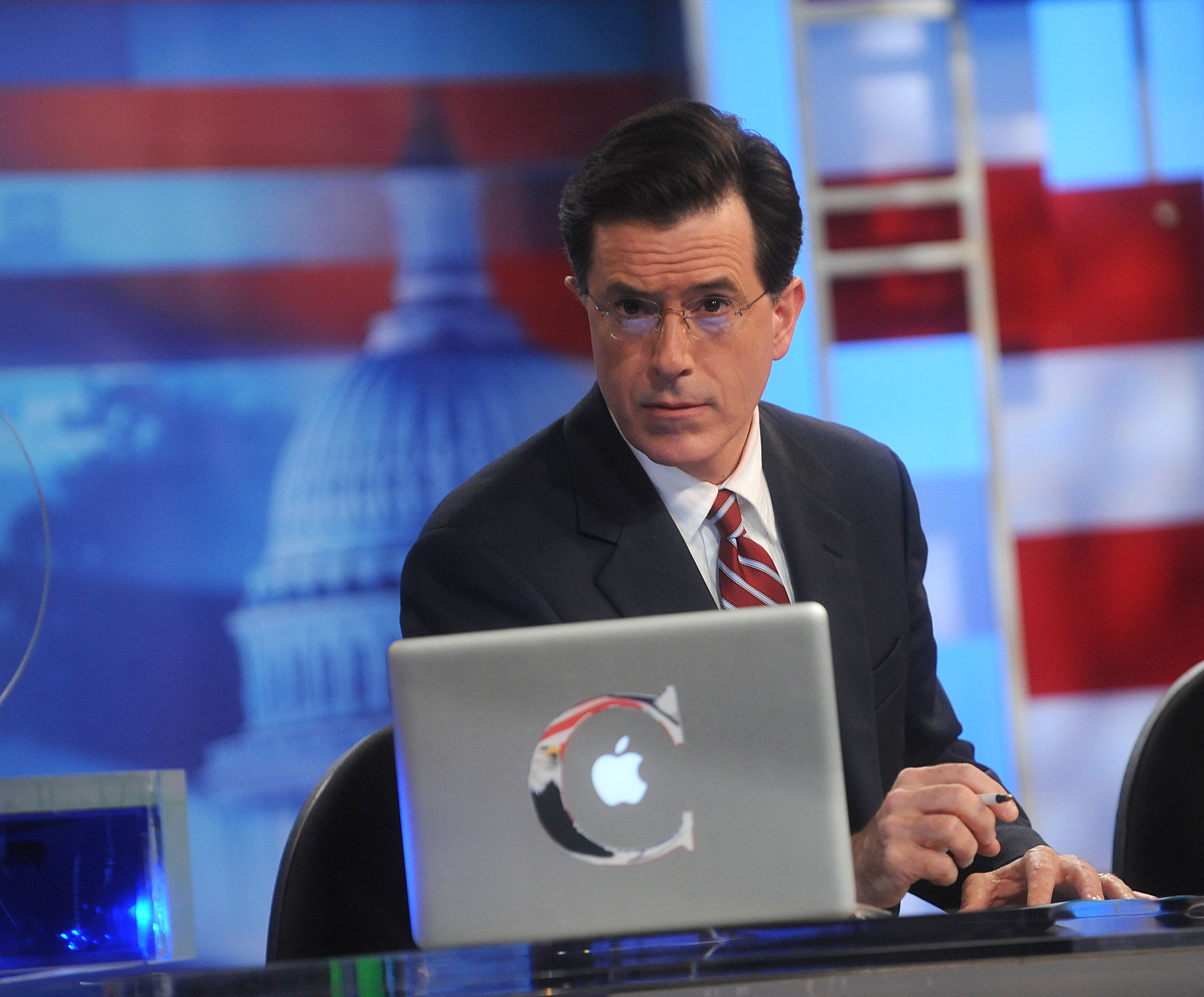 Stephen Colbert hosts Comedy Central's  Indecision 2008: America's Choice  at Comedy Central Studios on November 4, 2008 in New York City.