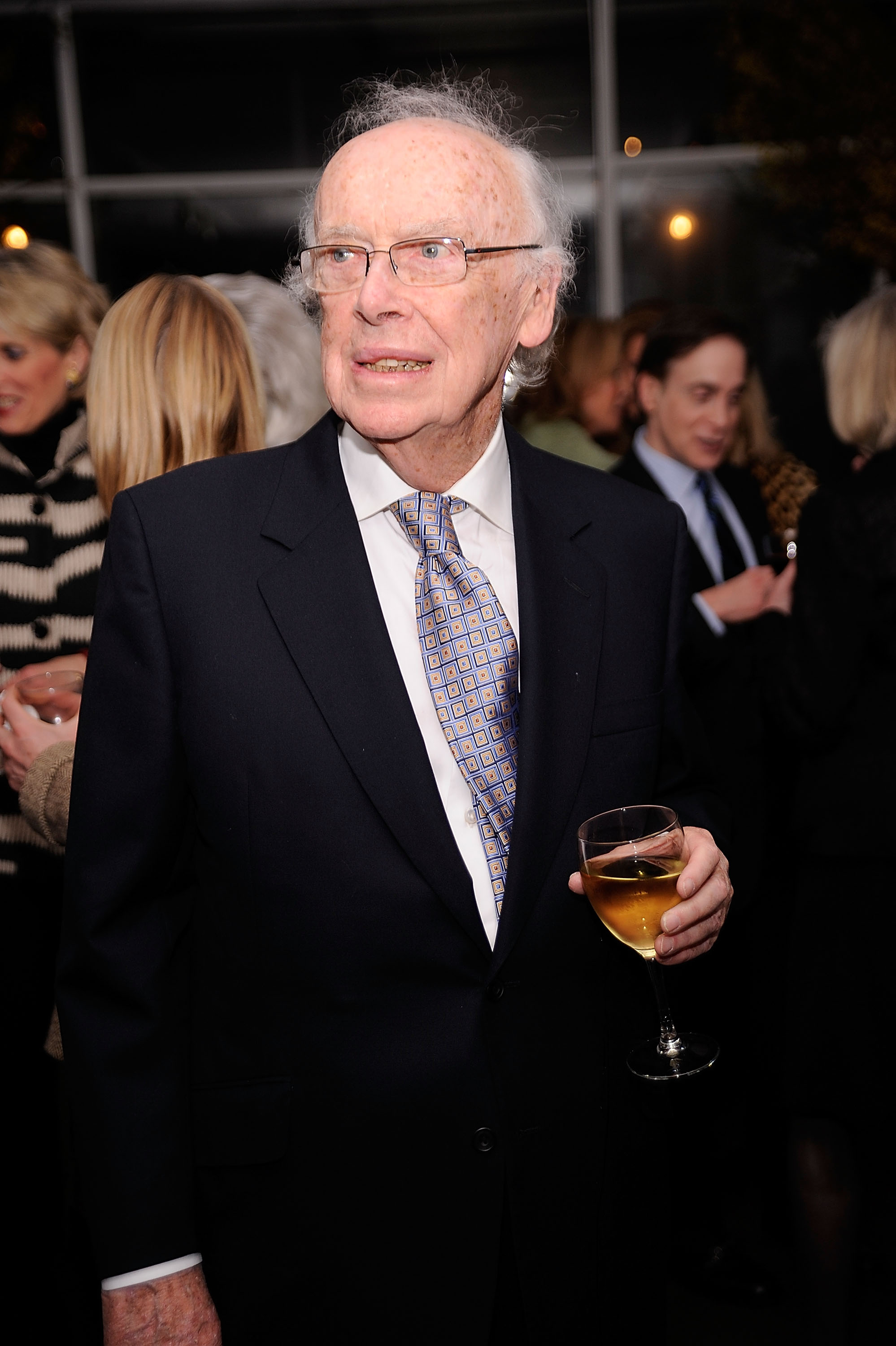 Noble Prize winner, Dr. James Watson, attends the Literacy Partners 26th annual Evening of Readings pre-gala kick-off at Michael's on March 1, 2010 in New York City.