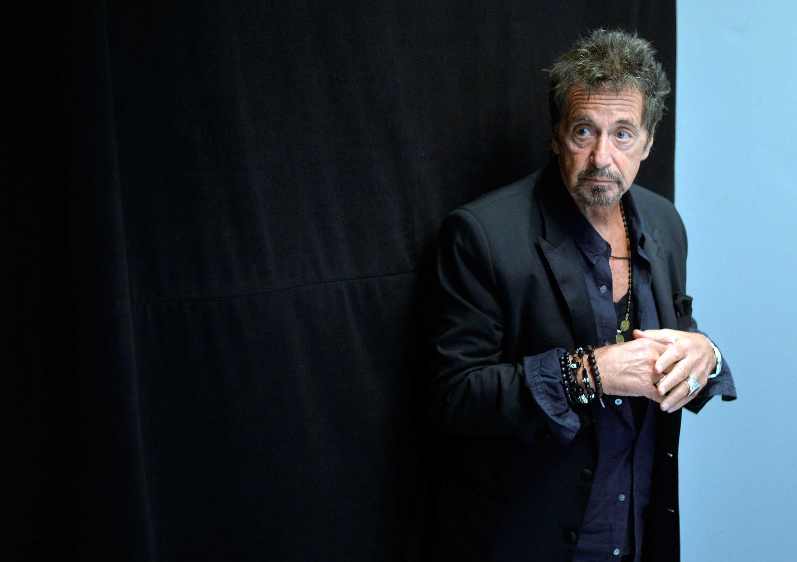 Al Pacino at Toronto International Film Festival on Sept. 7, 2014.