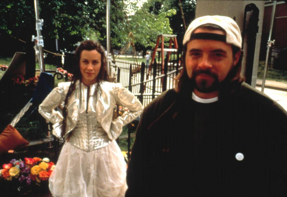 <strong>Alanis Morissette, <i>Dogma</i></strong>                                   This goofy religious satire from the mind of Kevin Smith featured Ben Affleck and Matt Damon as fallen angels and Morissette, in a cameo, as the Almighty. Morissette was in the midst of promoting <em>Supposed Former Infatuation Junkie</em>, an album inspired by Eastern religion that put forward a more spiritual, enlightened rock star.