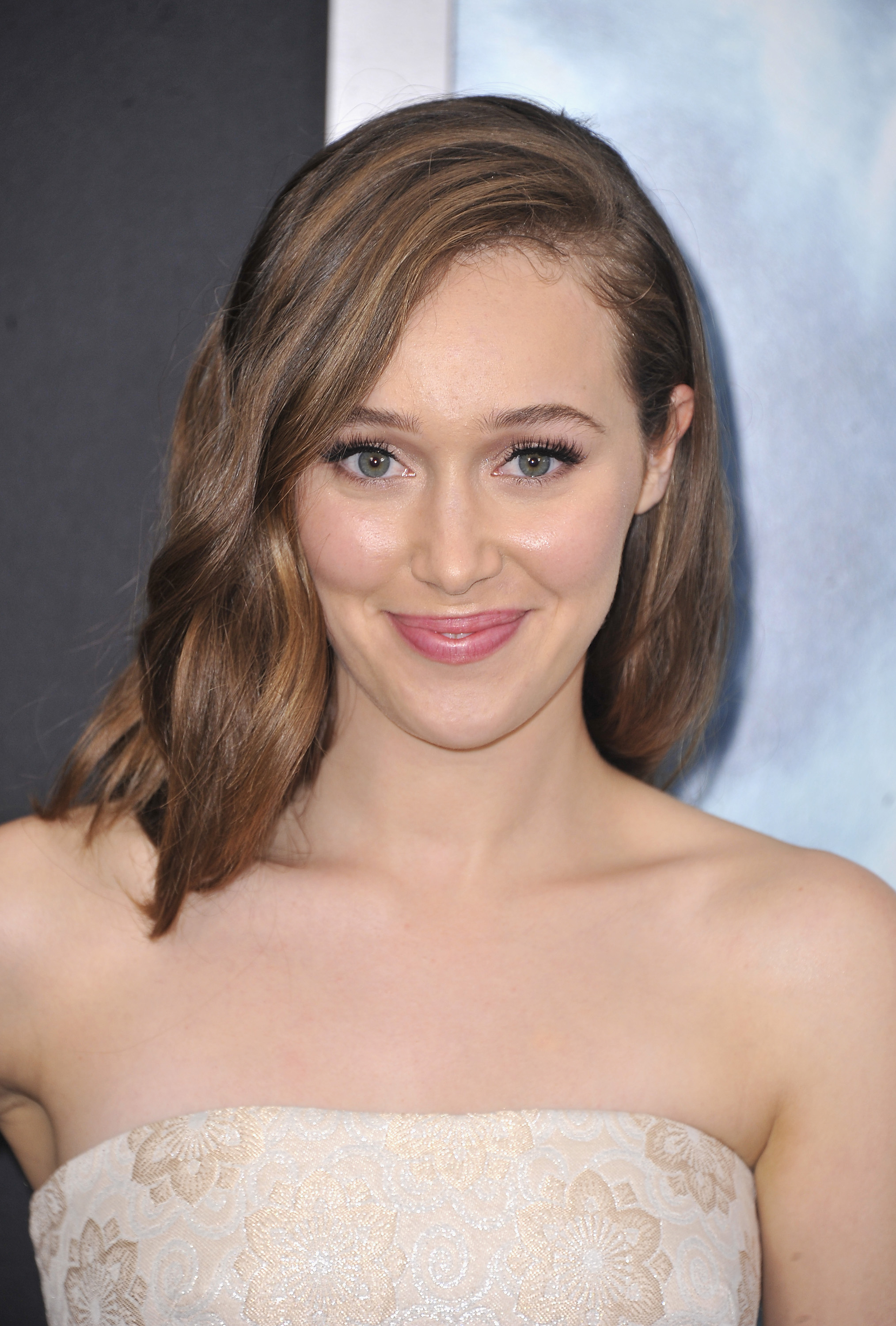 Actress Alycia Debnam Carey attends the  Into The Storm  premiere at AMC Lincoln Square Theater on Aug. 4, 2014 in New York City.