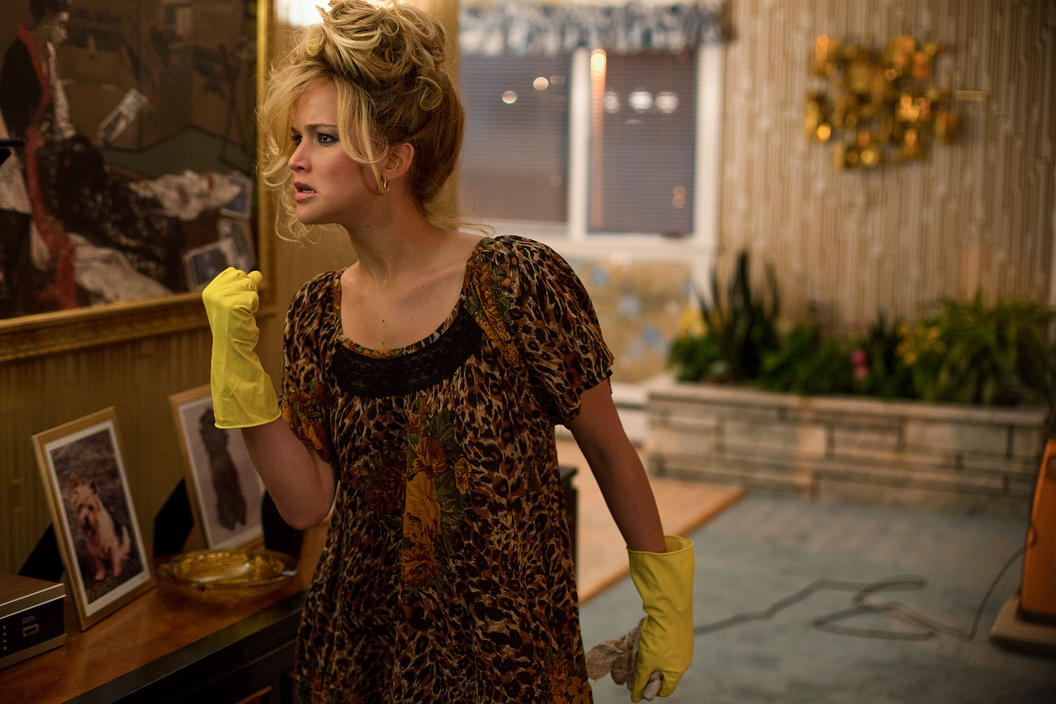 As if her 2013 wasn't already incredible, she joined an all-star cast to play the unstable Rosalyn Rosenfield in American Hustle.
