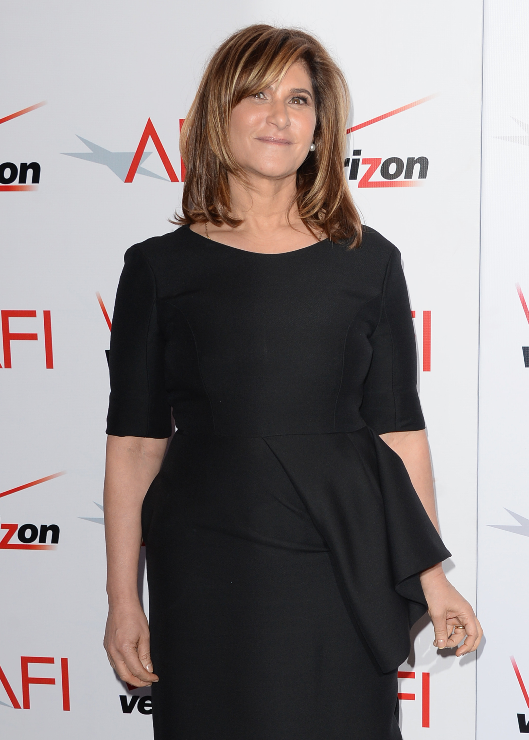 Amy Pascal attends the 14th annual AFI Awards Luncheon at the Four Seasons Hotel Beverly Hills on Jan. 10, 2014 in Beverly Hills.