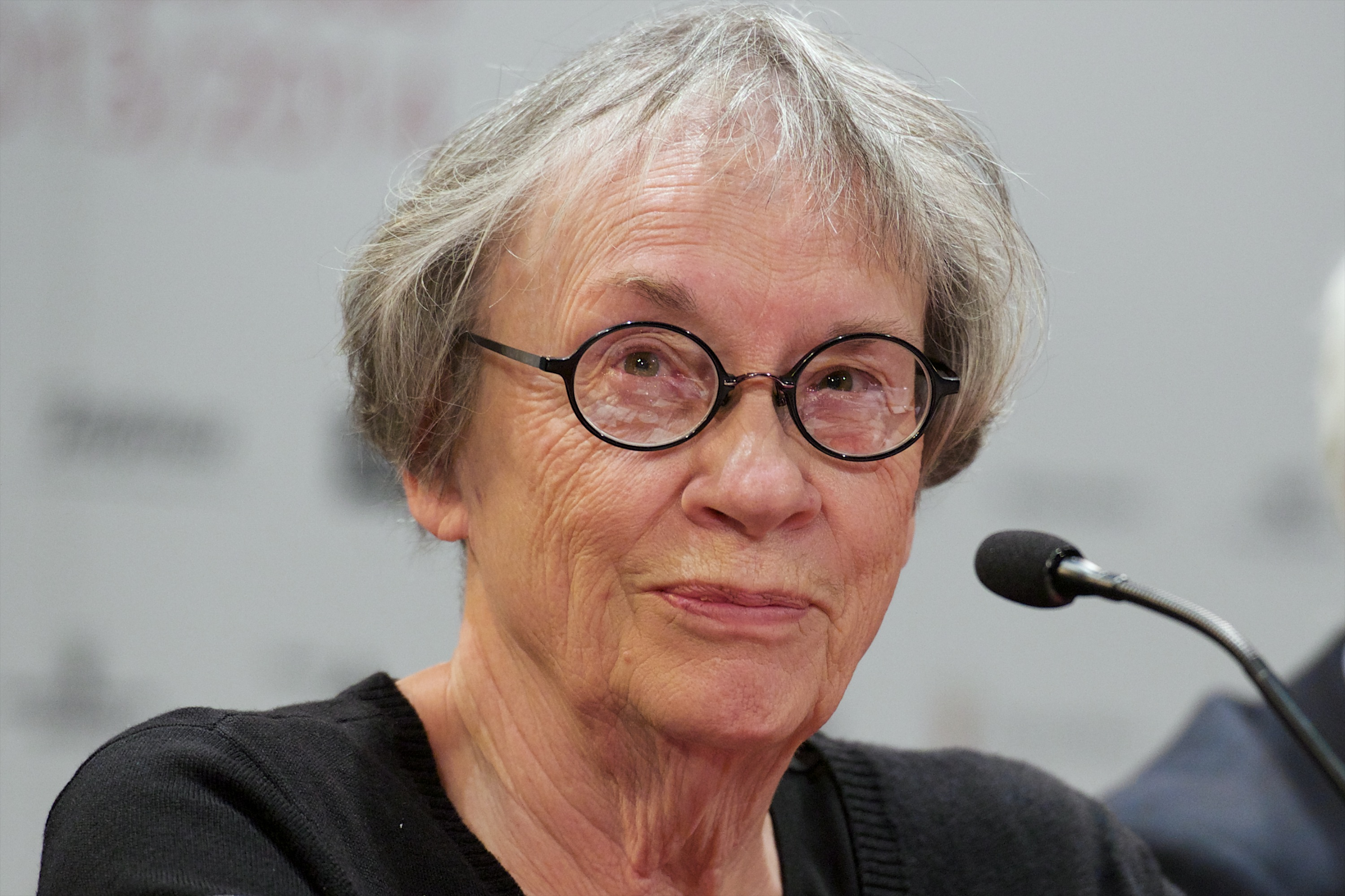 Writer Annie Proulx attends the  Brokeback Mountain  Opera press conference at the Royal Theatre on Jan. 27, 2014 in Madrid, Spain.