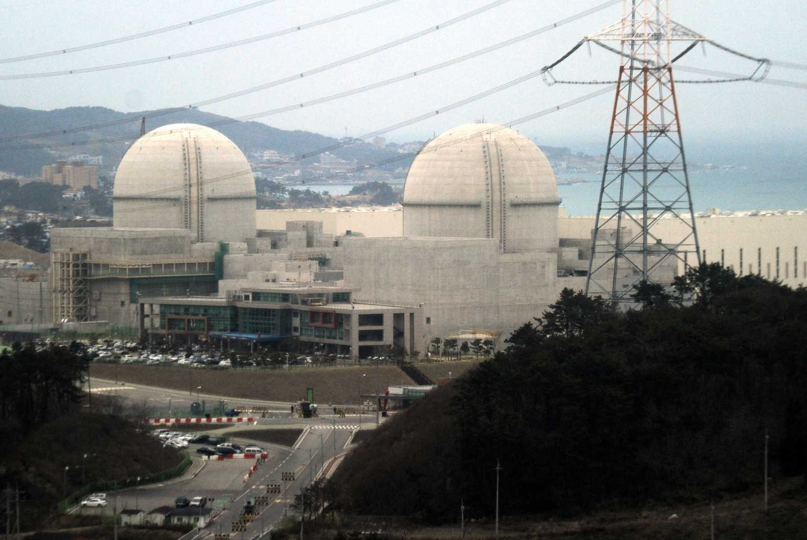 The dome-type Advanced Power Reactor 1400 reactors at the Kori nuclear power plant in Ulsan, South Korea, on Feb. 5, 2013