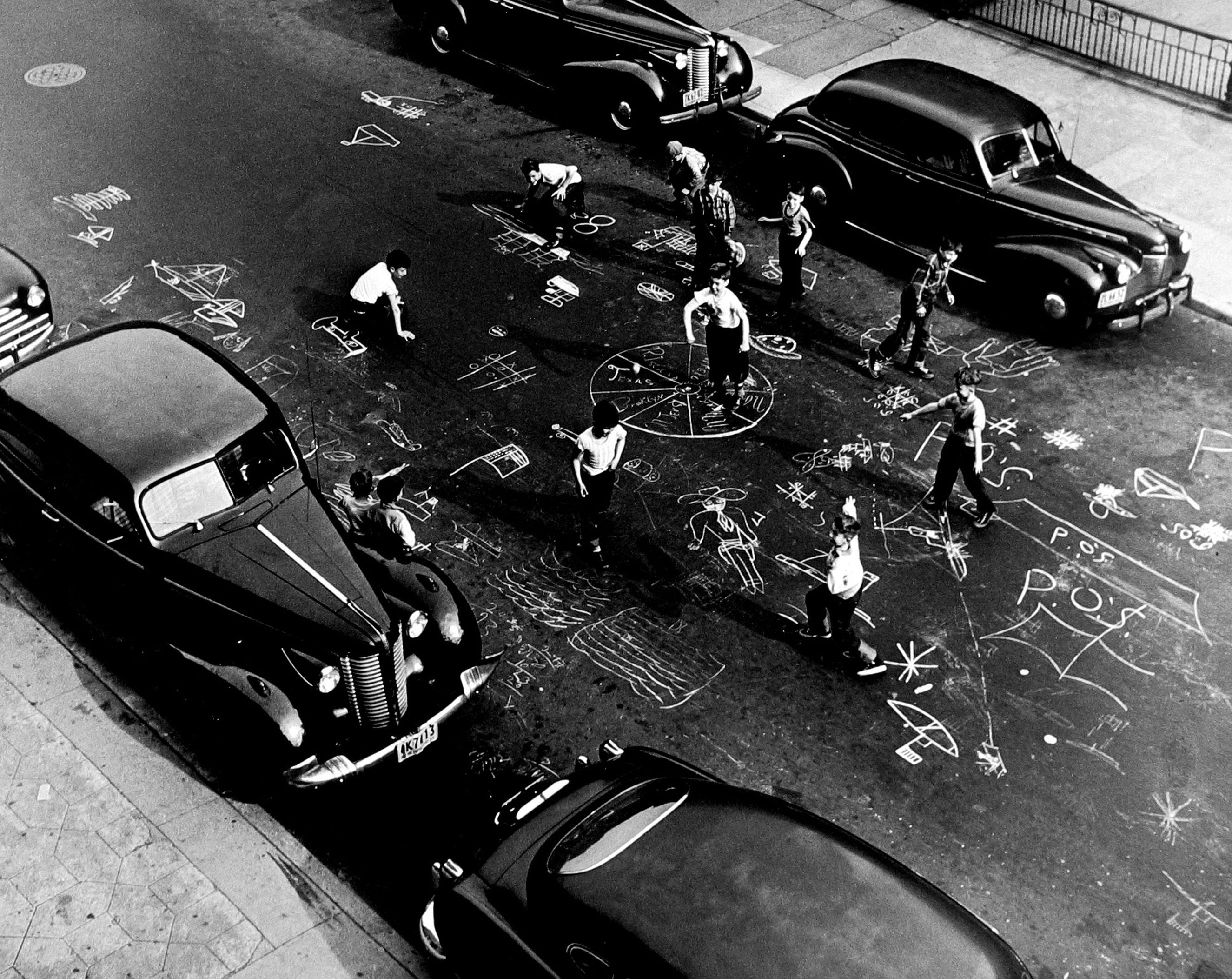 Chalk Games, 1950.