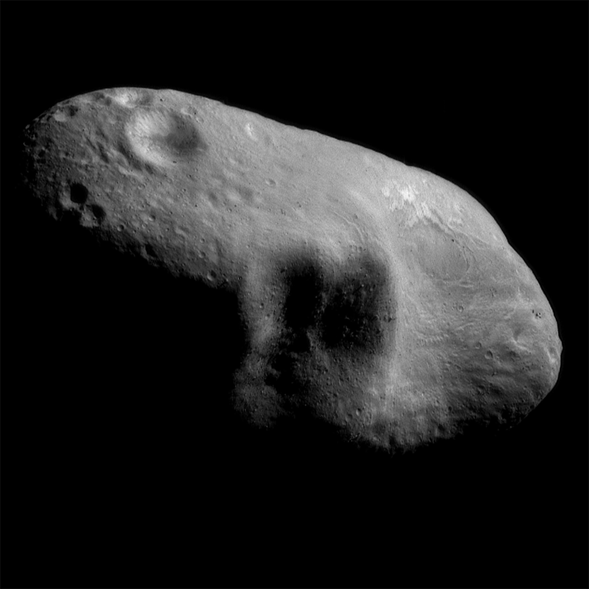 The asteroid Eros: So...not exactly Mars