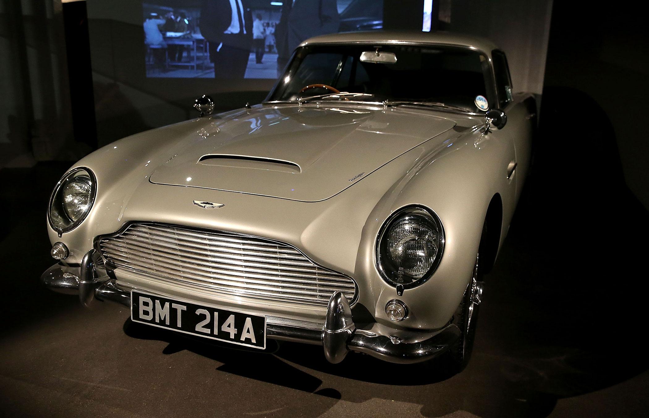 James Bond's Aston Martin DB5 from Skyfall.