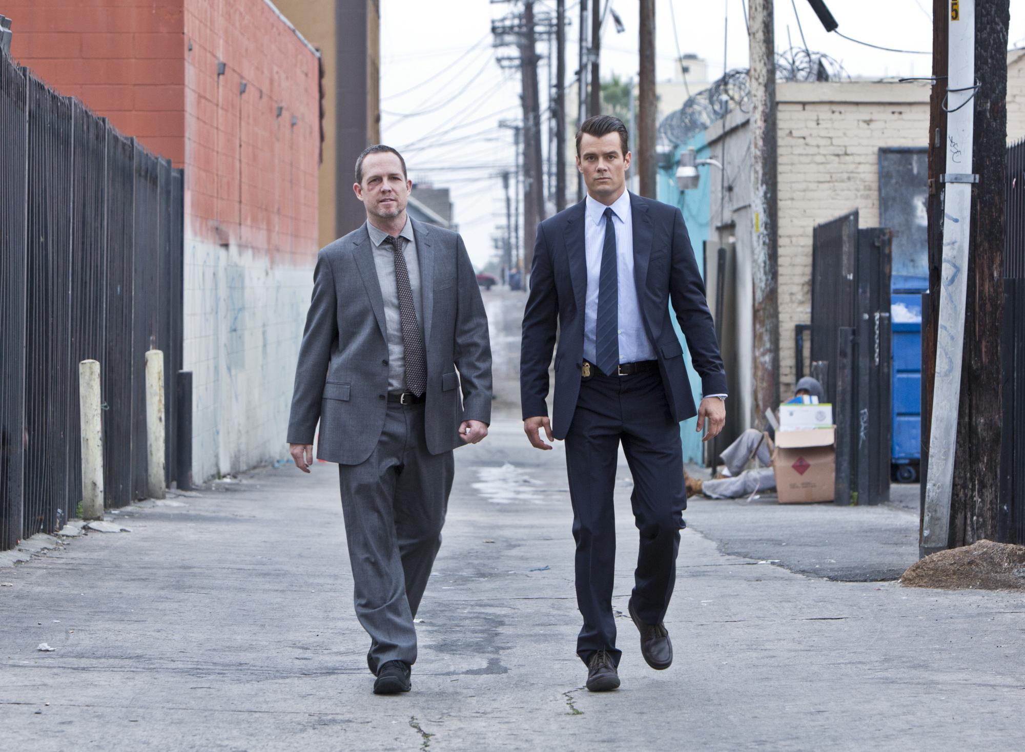 Battle Creek starring Josh Duhamel and Dean Winters based in Battle Creek, Michigan.