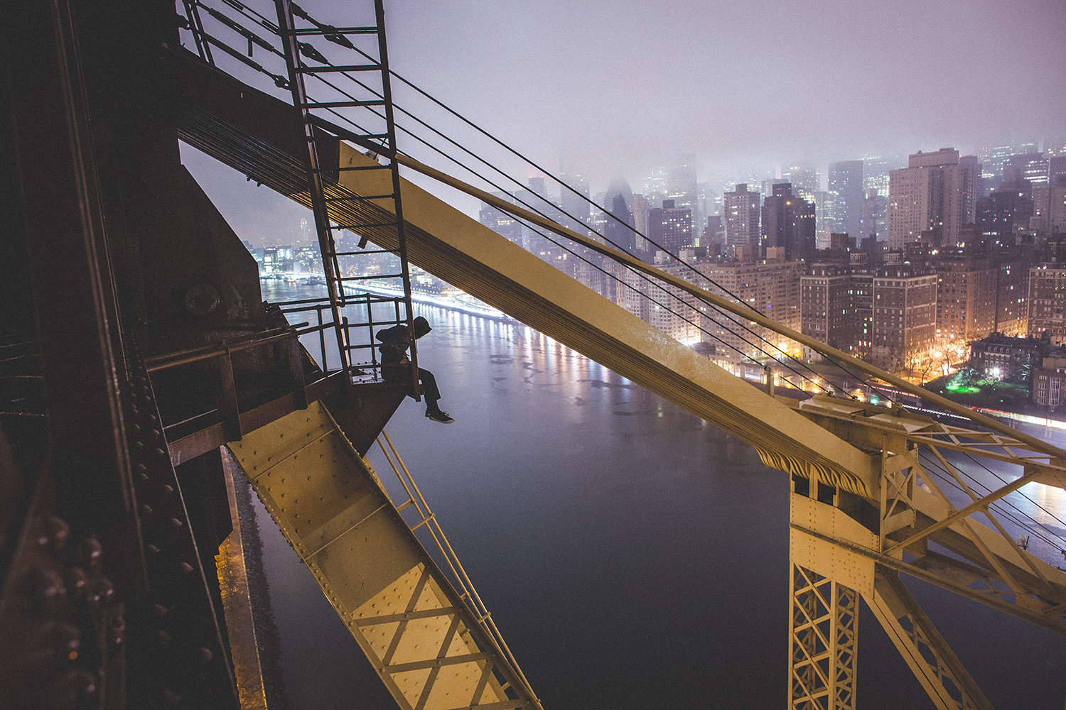 @night.shift has been rooftopping for eight months. New York City December 2014