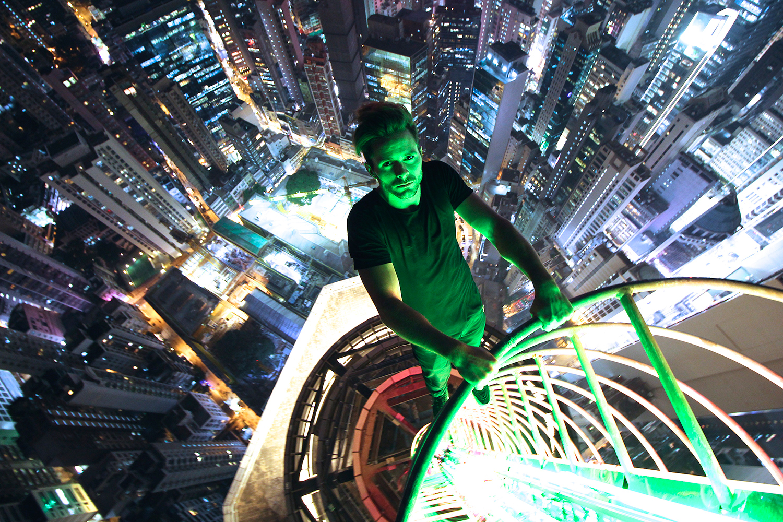 Daniel Lau (@daniel__lau) has been rooftopping for 8 months. Hong Kong November 2014