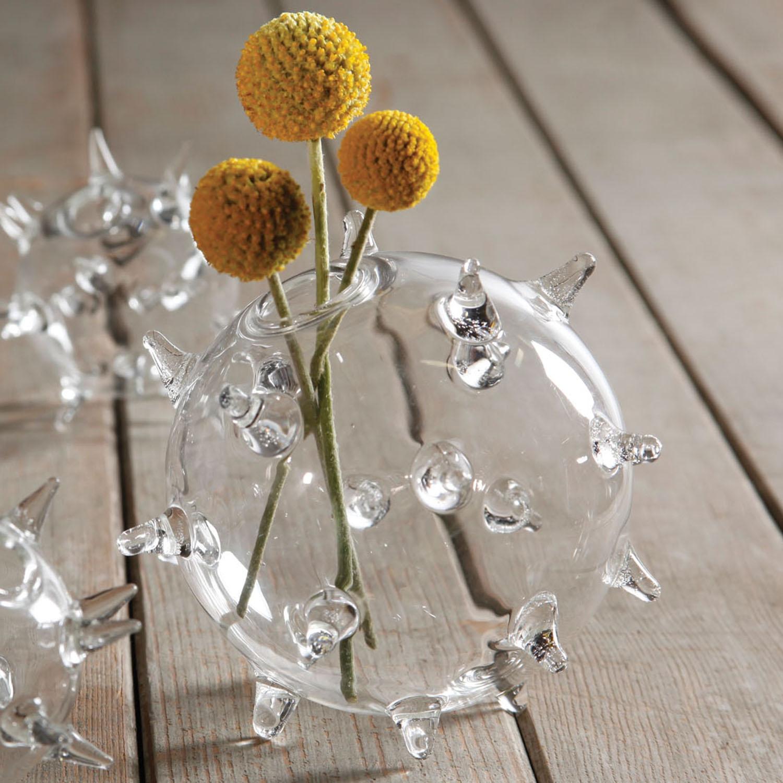 Sputnik Glass Vase - $10