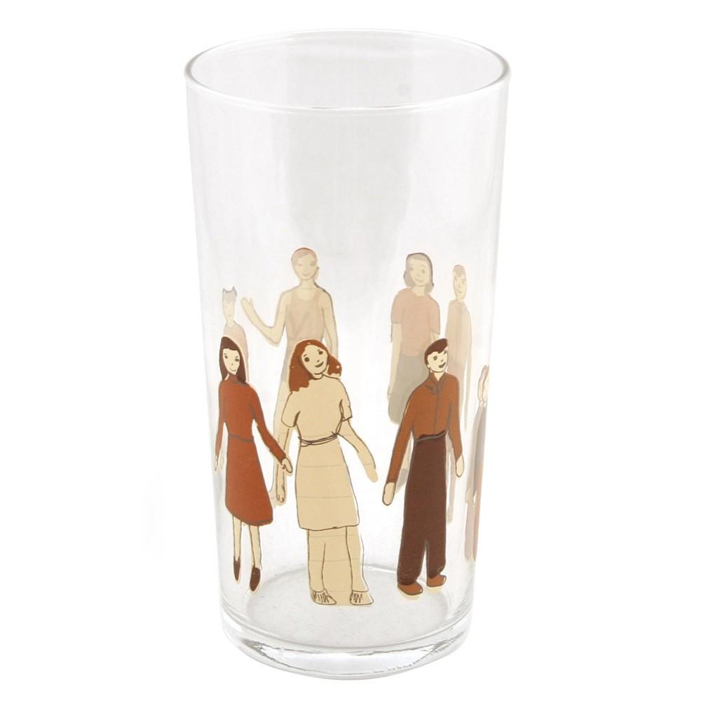 Paper Dolls Glass - $8