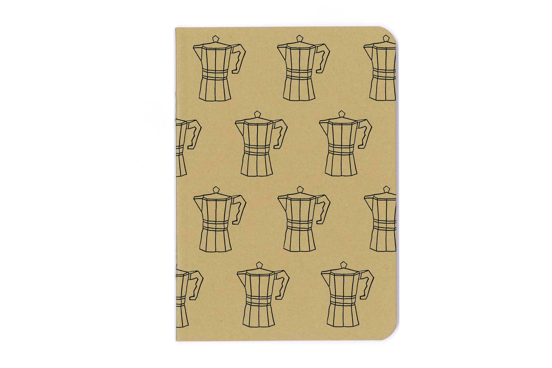 Coffee Percolator Notebook - $6