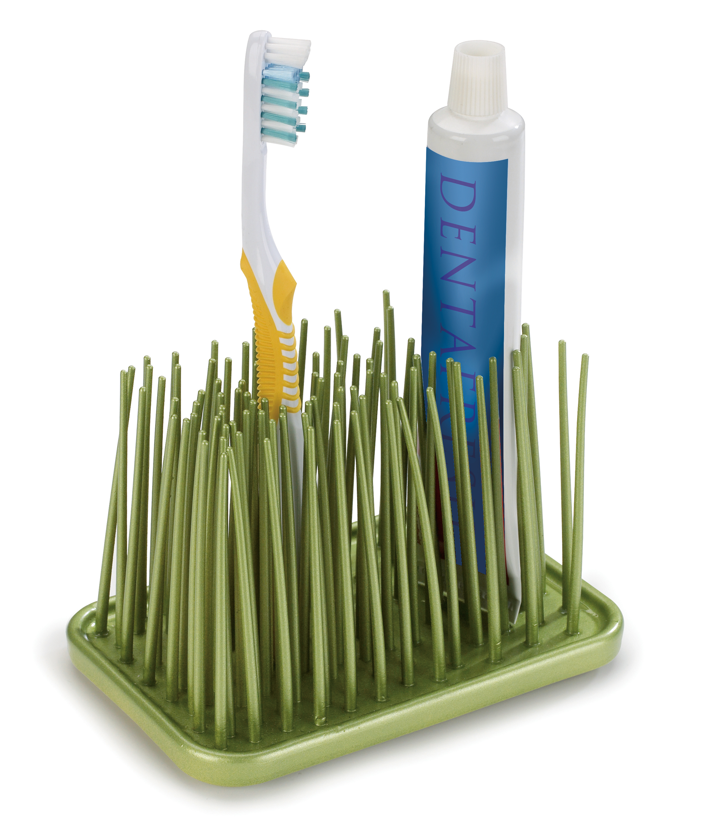 Grassy Toothbrush Organizer - $9