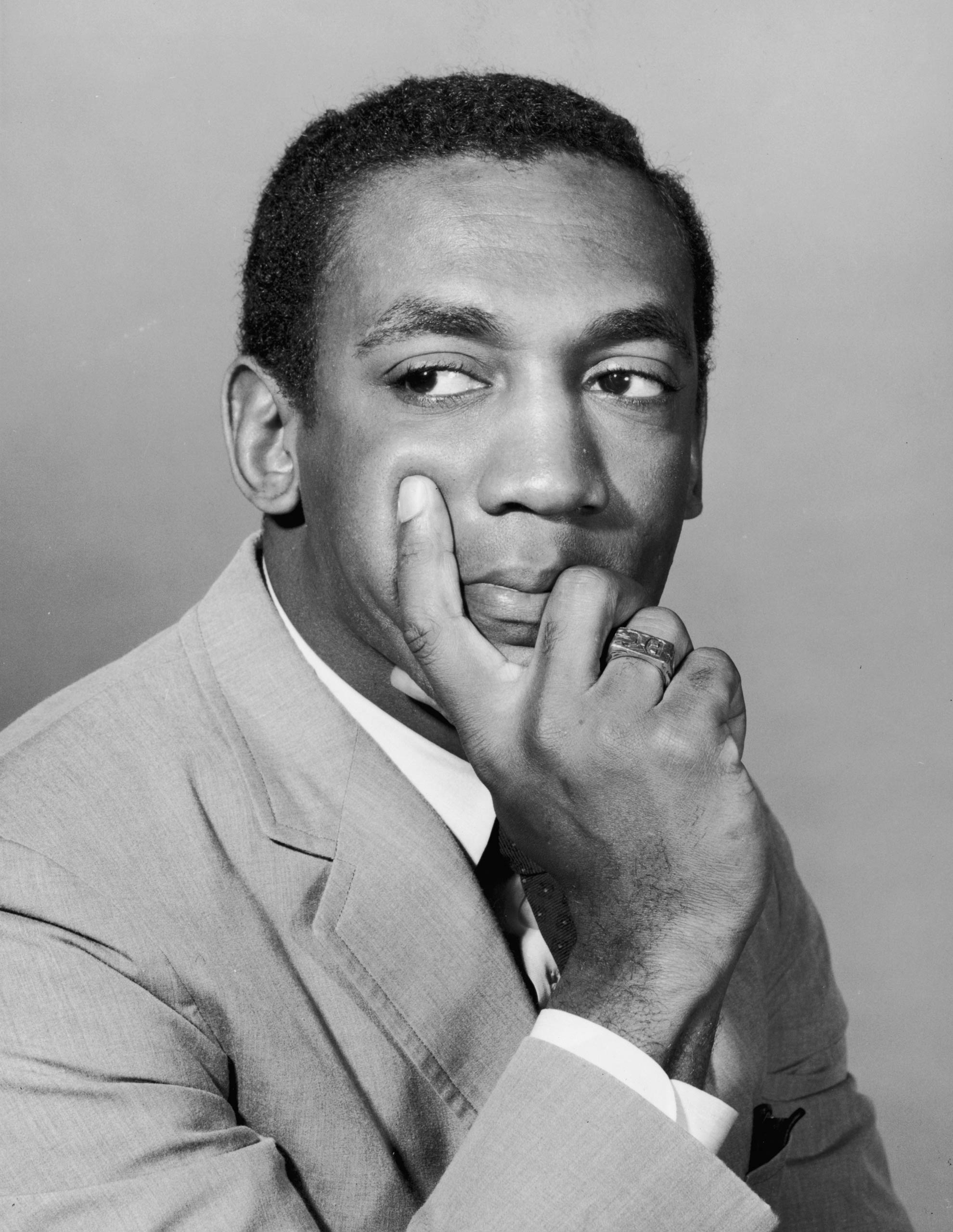 A portrait of Bill Cosby taken in 1965.