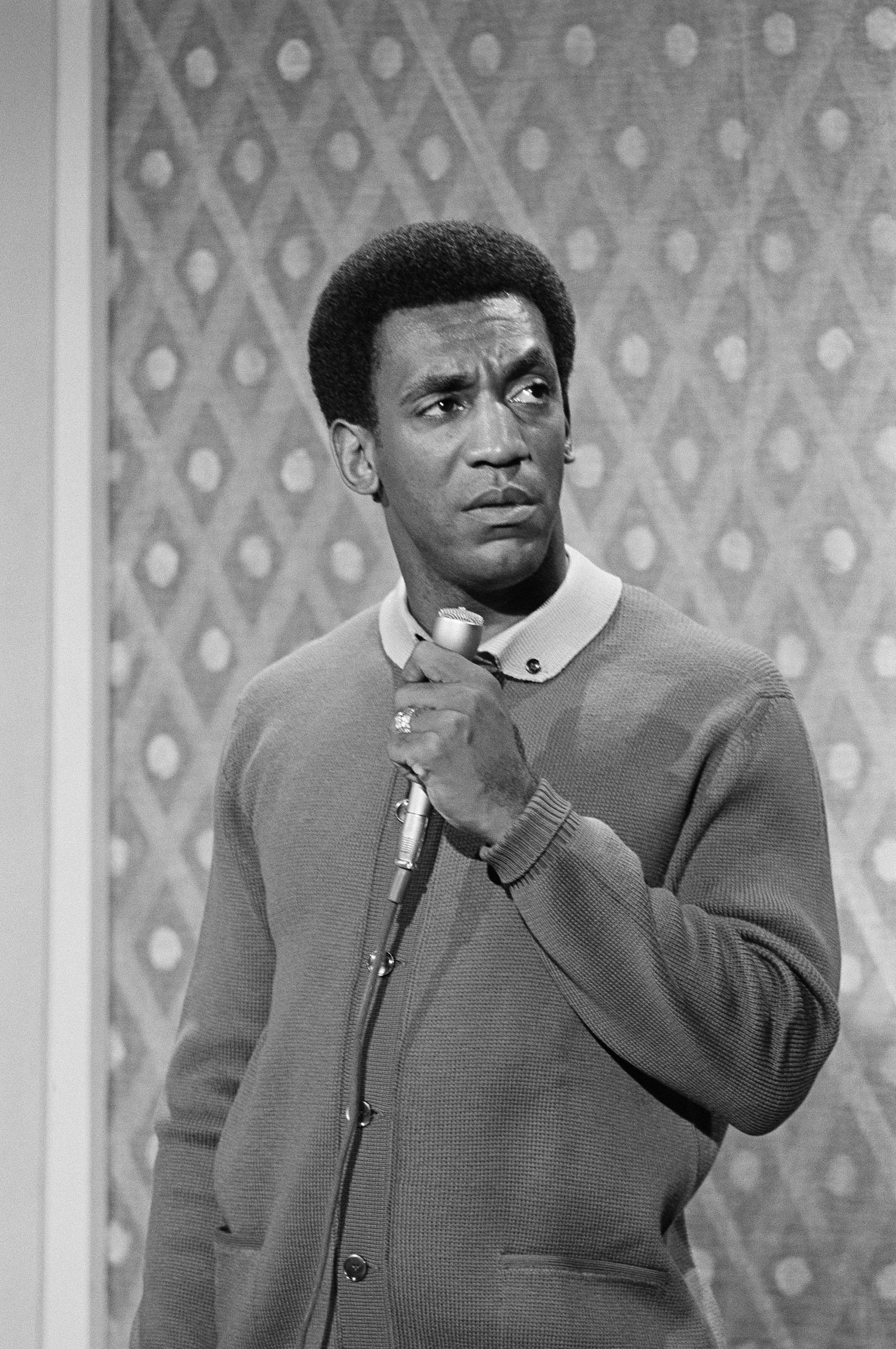 Bill Cosby performs on The Second Bill Cosby Special in 1969.