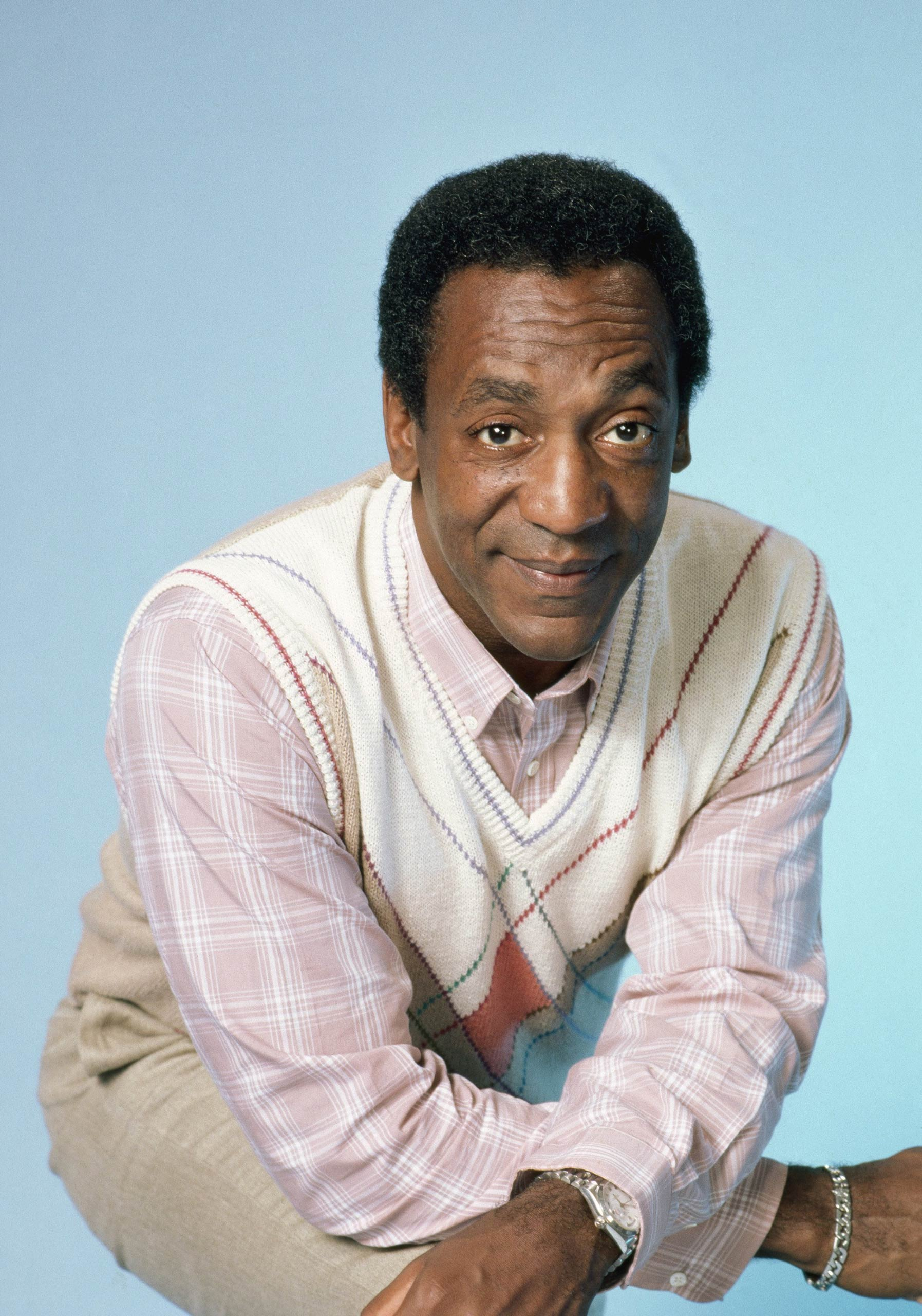 Bill Cosby as Dr. Heathcliff 'Cliff' Huxtable in The Cosby Show.