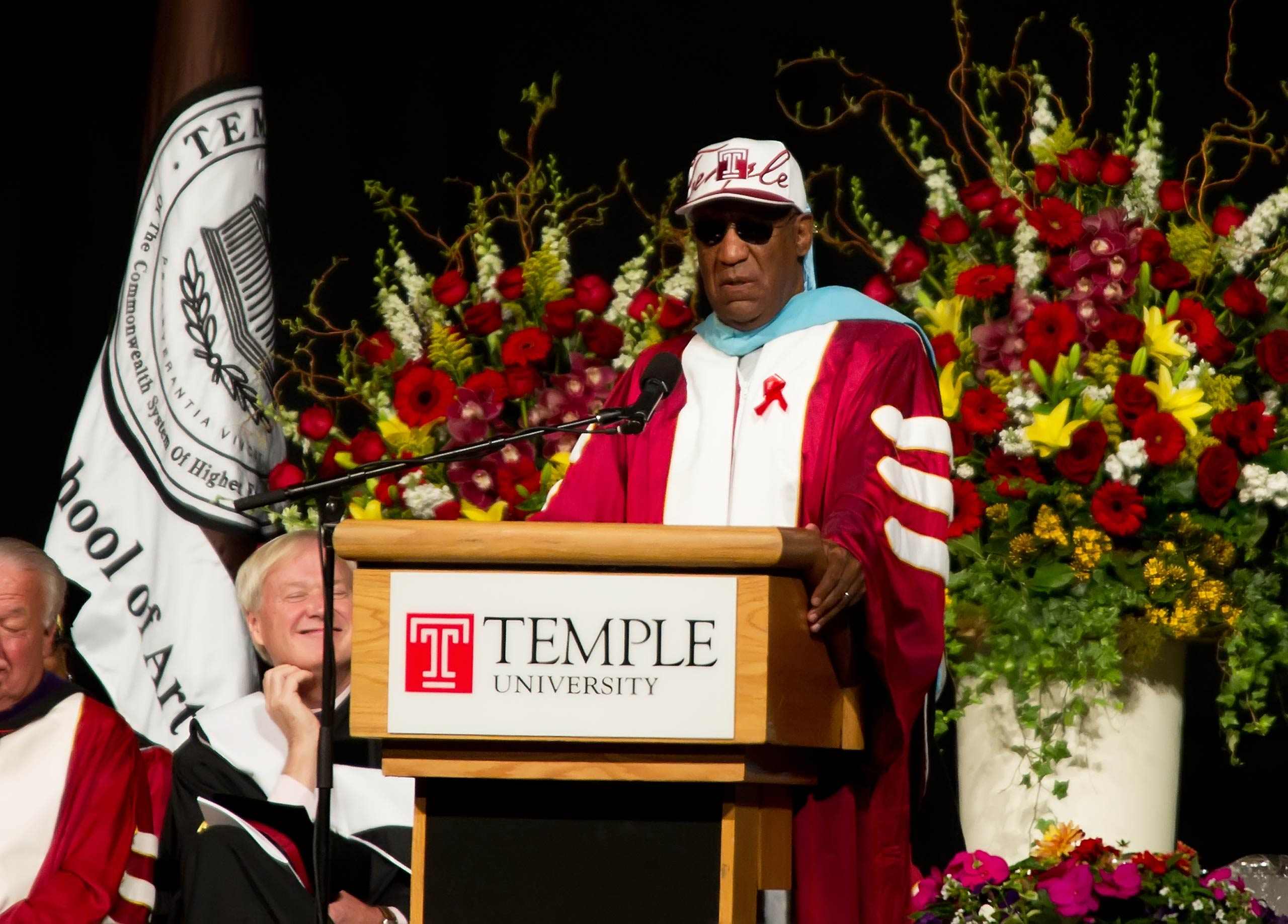 Bill Cosby attends the 2011 Temple University Commencement at the Liacouras Center in 2011 in Philadelphia, Pa.