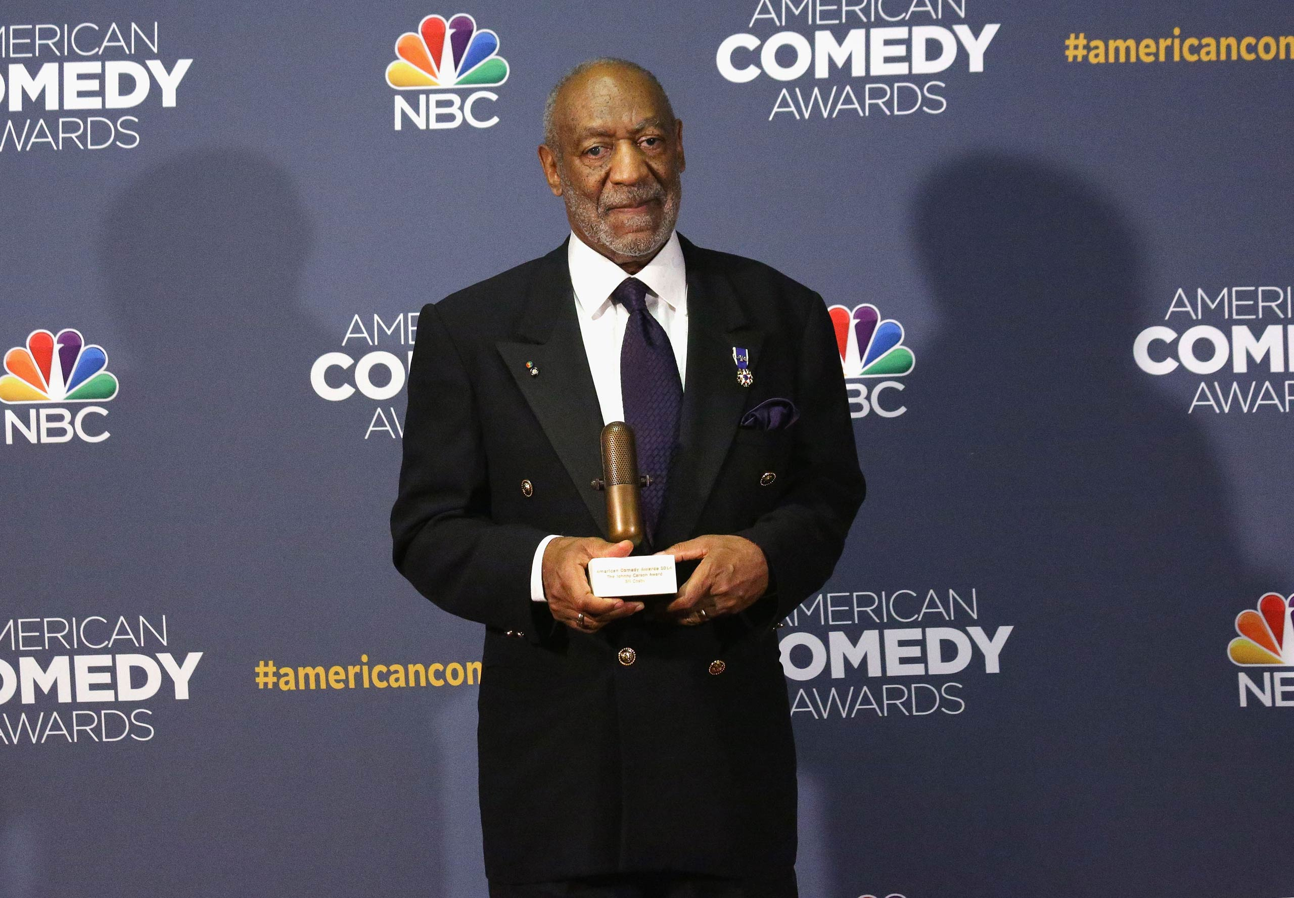 Bill Cosby attends the 2014 American Comedy Awards at Hammerstein Ballroom on April 26, 2014 in New York City.