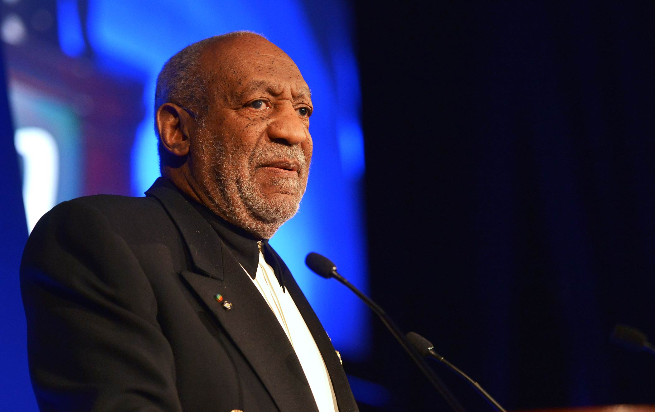 Bill Cosby speaks at the Jackie Robinson Foundation 2014 Awards Dinner at Waldorf Astoria Hotel on March 3, 2014 in New York City.