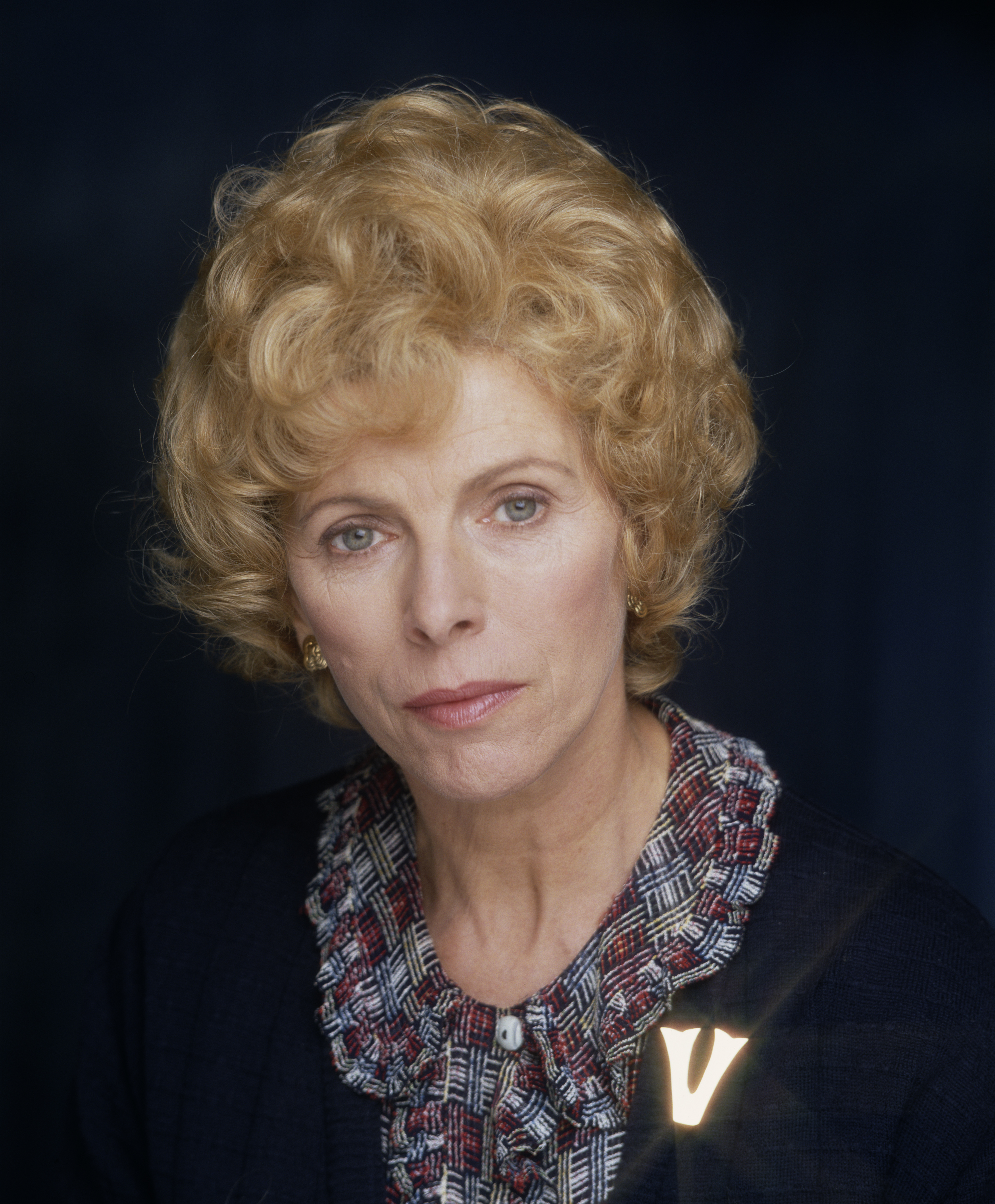 English actress Billie Whitelaw as Violet Kray in the film 'The Krays' in 1990.