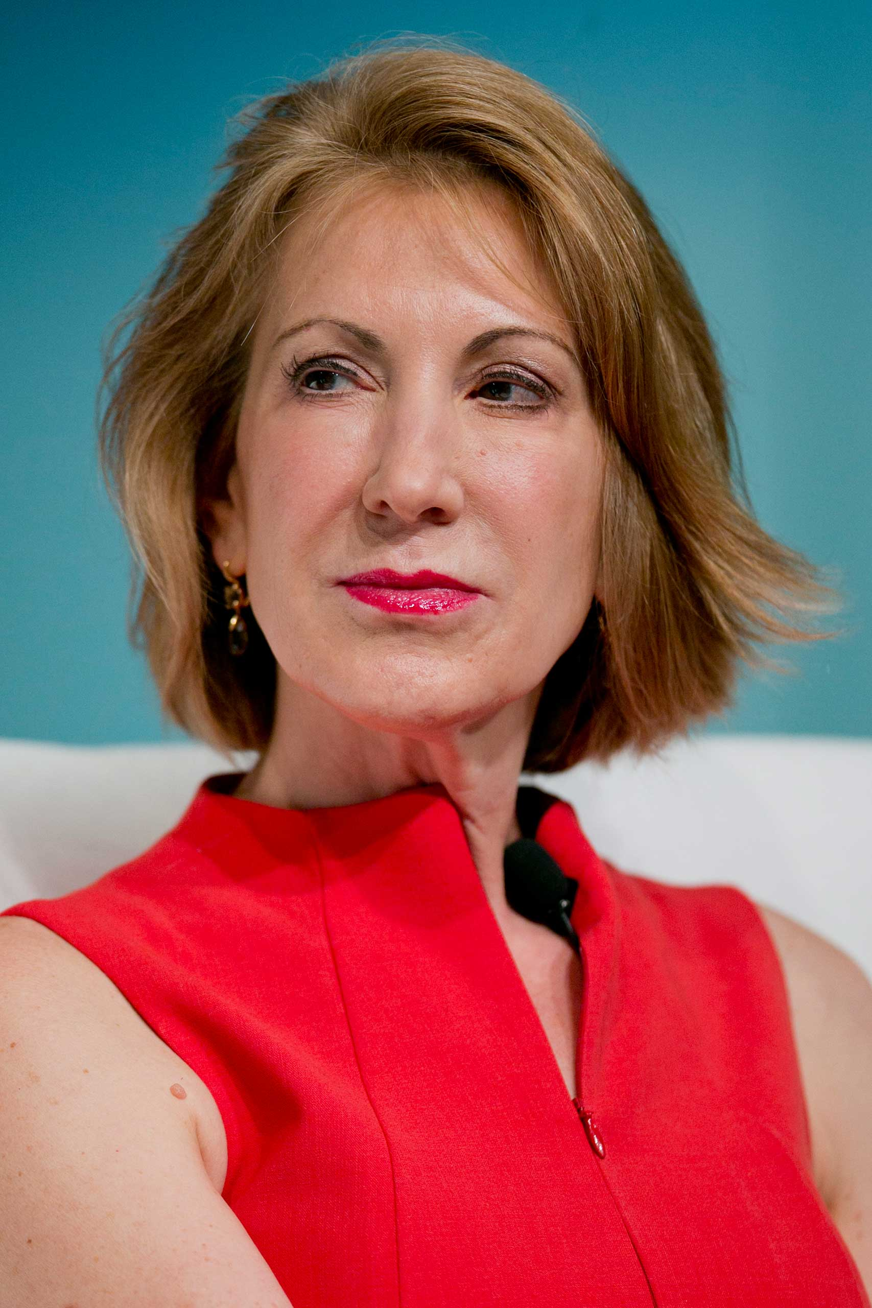 Carly Fiorina is the former CEO of Hewlitt-Packard and ran unsuccessfully for a Republican Senate seat from California in 2010.