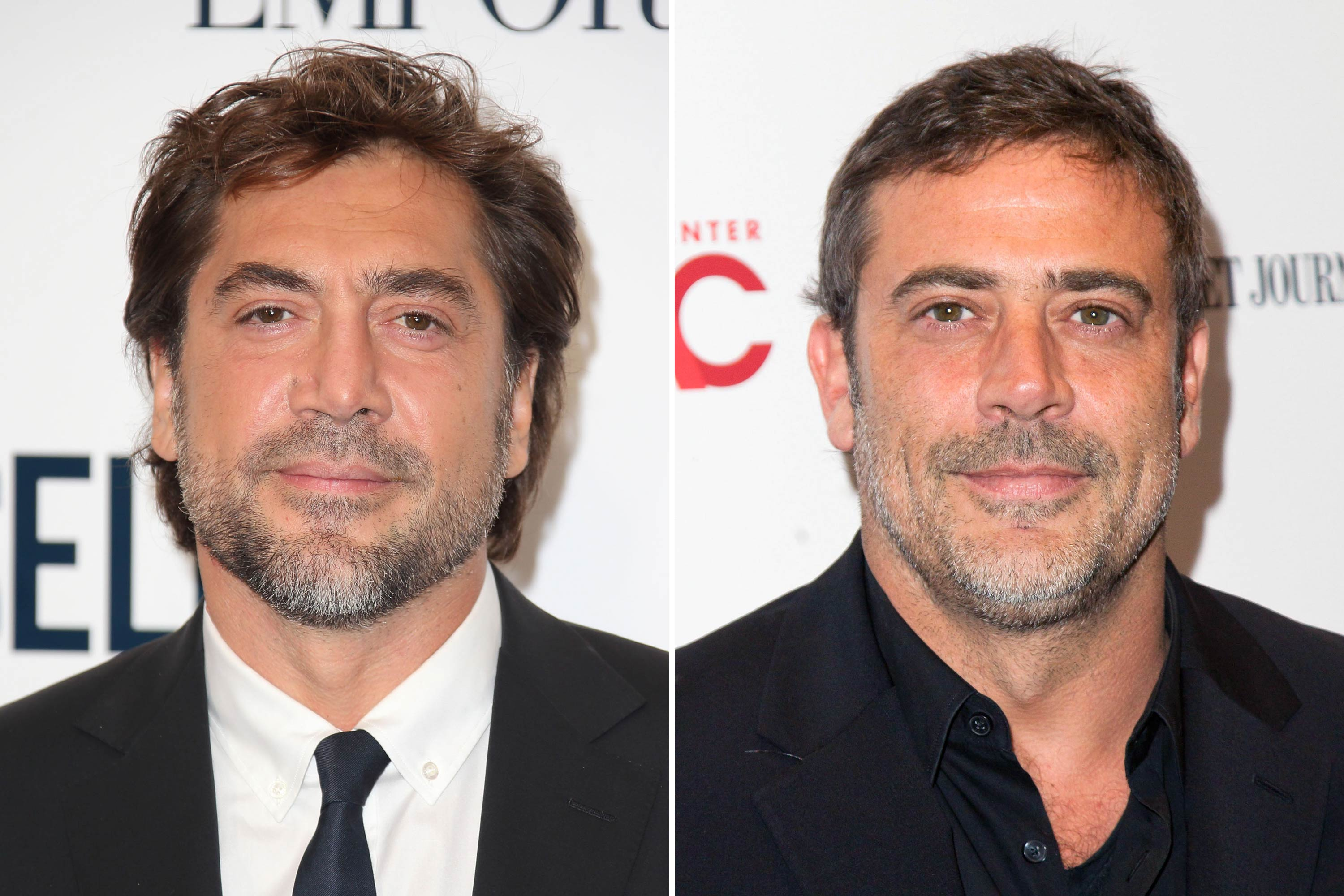 <strong>Javier Bardem &amp; Jeffrey Dean Morgan</strong>