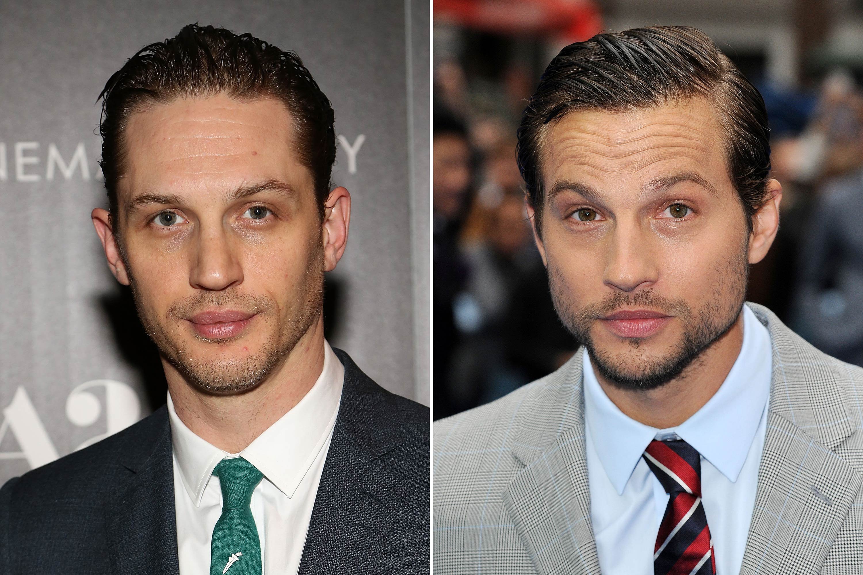 <strong>Tom Hardy &amp; Logan Marshall-Green</strong>