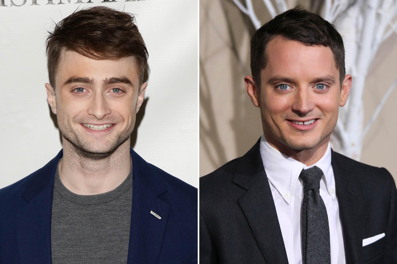 <strong>Daniel Radcliffe &amp; Elijah Wood</strong>