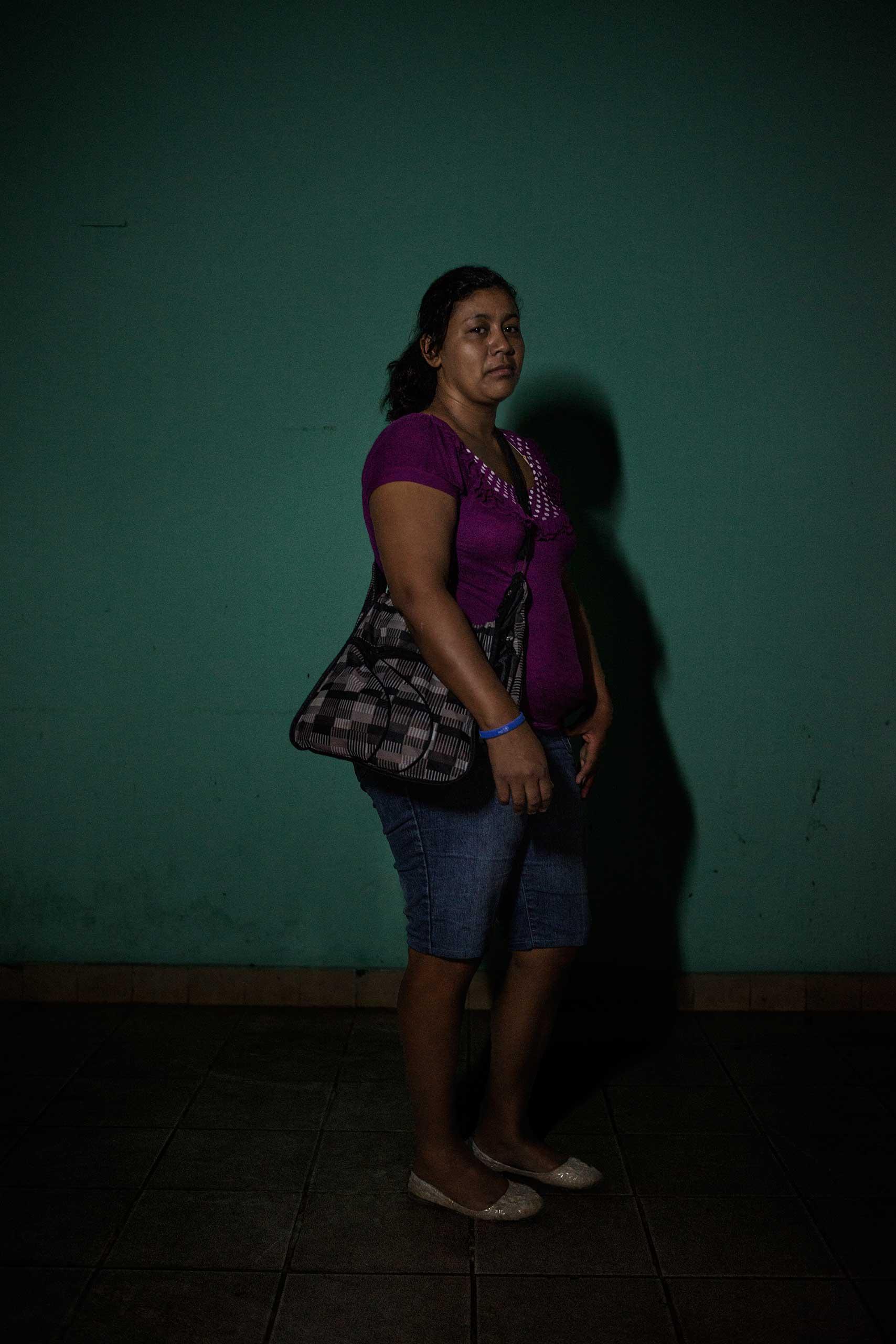 Delmis Helgar, 32, from Honduras.