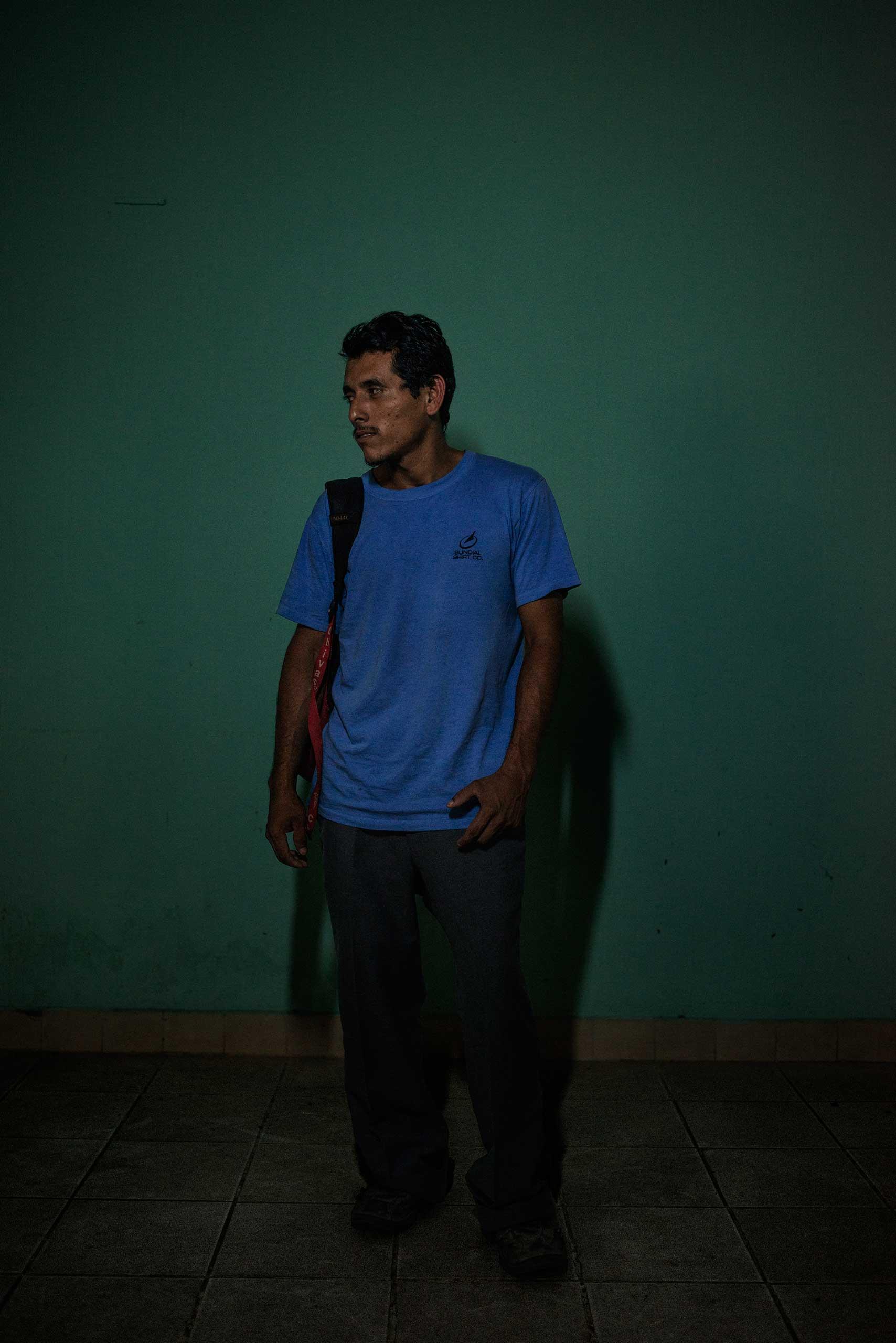 Edwin Alexander Mateo, 22, from Guatemala.